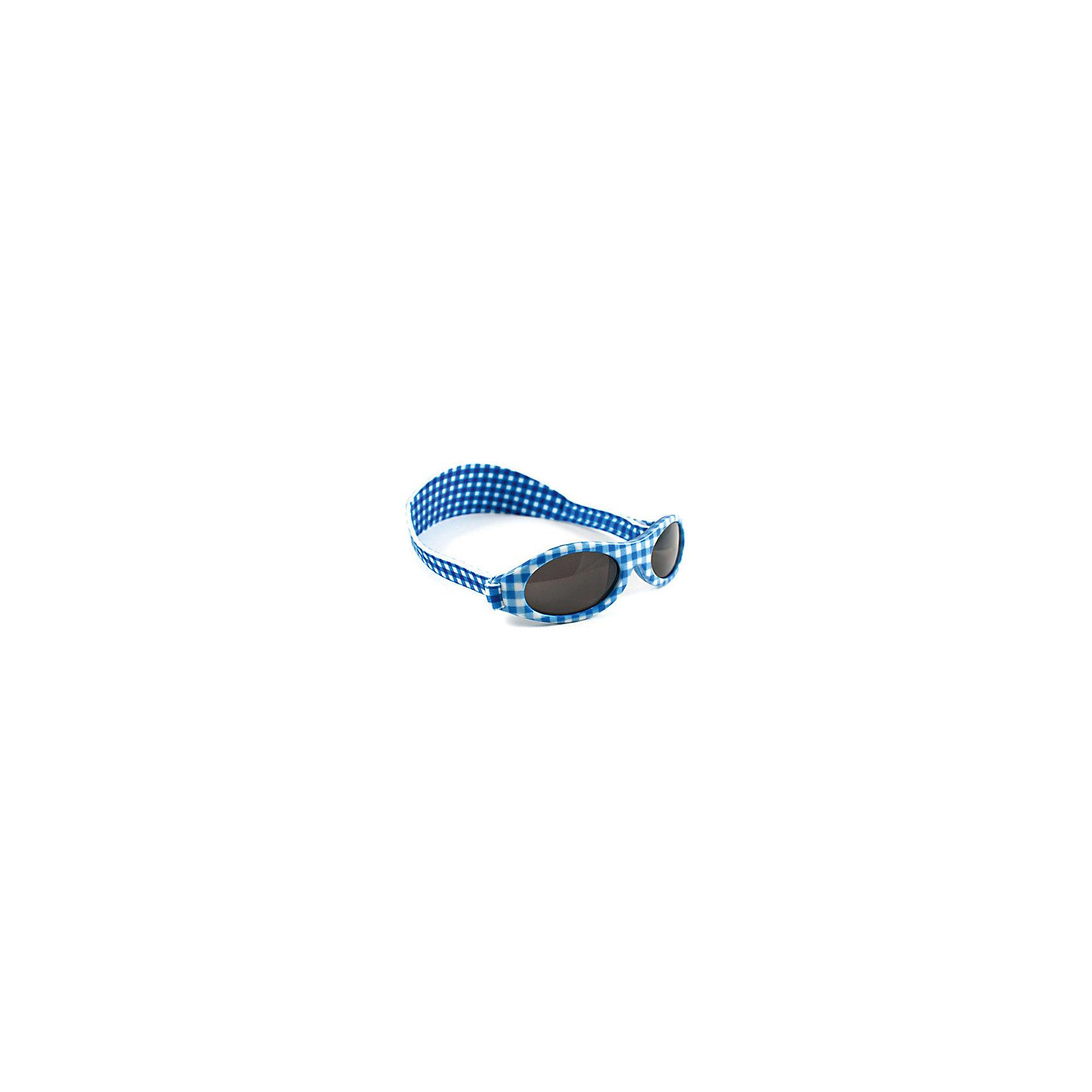 Солнцезащитные очки, голубая клетка, Baby BanzАксессуары<br><br><br>Ширина мм: 130<br>Глубина мм: 50<br>Высота мм: 40<br>Вес г: 40<br>Возраст от месяцев: 24<br>Возраст до месяцев: 108<br>Пол: Унисекс<br>Возраст: Детский<br>SKU: 3952251
