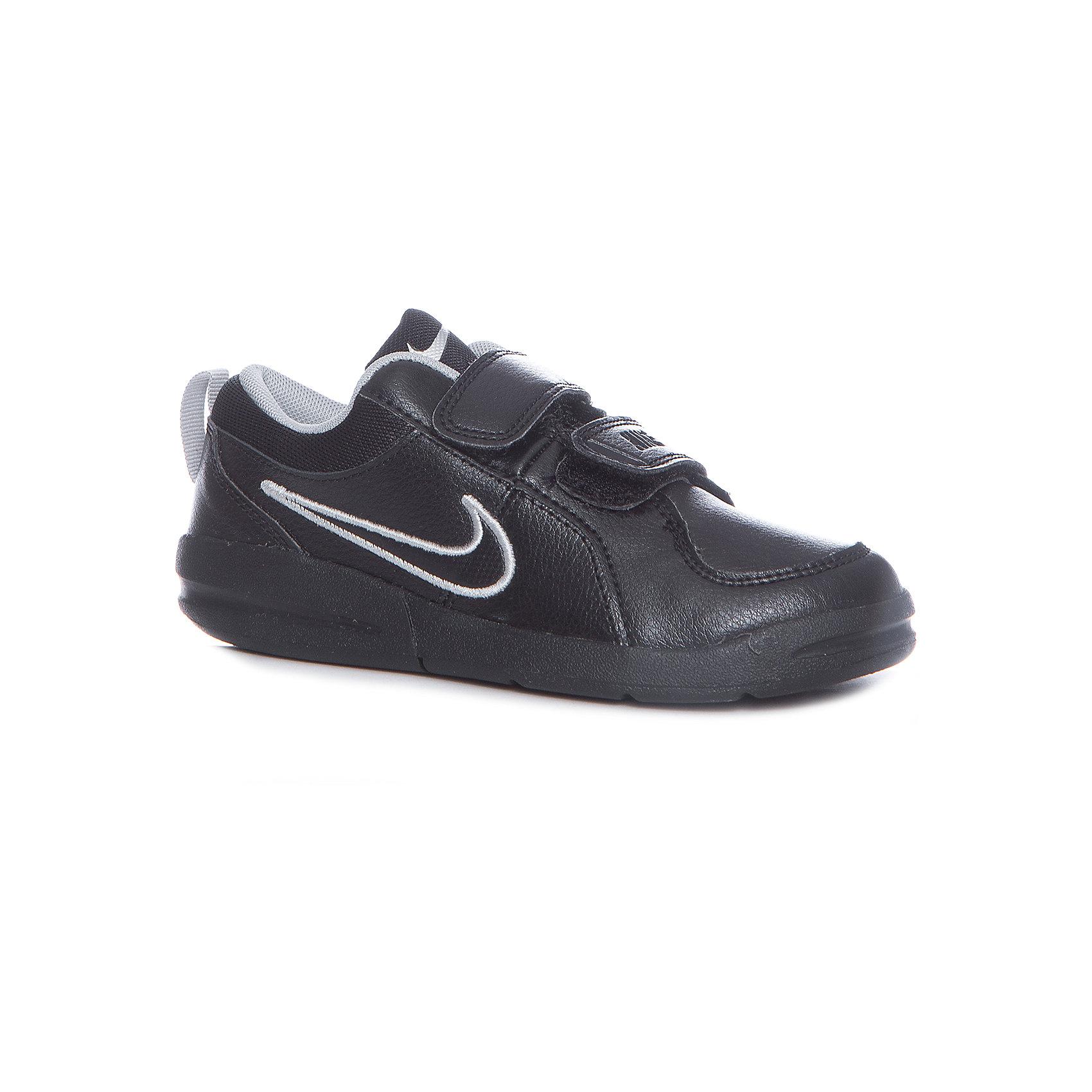 Кроссовки Nike Pico 4 (PSV) для мальчикаКроссовки<br>Характеристики товара:<br><br>• цвет: черный<br>• спортивный стиль<br>• внешний материал обуви: искусственная кожа, кожа<br>• внутренний материал: текстиль<br>• стелька: текстиль<br>• подошва: резина<br>• декорированы логотипом<br>• вставка в подошве для мягкой амортизации<br>• тип застежки: липучка<br>• сезон: весна, лето<br>• температурный режим: от +10°С до +20°С<br>• устойчивая подошва<br>• защищенный мыс и пятка<br>• износостойкий материал<br>• коллекция: весна-лето 2017<br>• страна бренда: США<br>• страна изготовитель: Индонезия<br><br>Продукция бренда NIKE известна высоким качеством, уникальным узнаваемым дизайном и проработанными деталями, которые создают удобство при занятиях спортом и долгой ходьбе. Натуральная кожа в качестве внутреннего материала помогает этой модели обеспечить ребенку комфорт и предотвратить натирание.<br><br>Уход за такой обувью прост, она легко чистится и быстро сушится. Надевается элементарно благодаря удобной липучке.<br><br>Обувь качественно проработана, она долго служит, удобно сидит, отлично защищает детскую ногу от повреждений. Стильно выглядит и хорошо смотрится с одеждой разных цветов и стилей.<br><br>Кроссовки NIKE (Найк) можно купить в нашем интернет-магазине.<br><br>Ширина мм: 250<br>Глубина мм: 150<br>Высота мм: 150<br>Вес г: 250<br>Цвет: белый<br>Возраст от месяцев: 96<br>Возраст до месяцев: 108<br>Пол: Мужской<br>Возраст: Детский<br>Размер: 31,33.5,32,28.5,30.5,29,27.5,34,33,30,28.5,26.5,28,31.5,27<br>SKU: 3969327