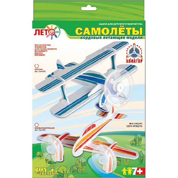 Изготовление моделей самолетов Бомбардировщик, LORIШитьё<br>Изготовление моделей самолетов Бомбардировщик, Lori - увлекательный набор для детского творчества, который позволит Вашему ребенку создать оригинальную модель самолета-бомбардировщика. В комплекте Вы найдете все необходимые материалы и инструменты: детали для самолета, цветную пленку и подробную инструкцию.<br><br>Процесс сборки не представляет больших трудностей, самолет собирается из деталей, которые соединяются с помощью пазов и клея (не входит в комплект). К модели крепится винт, детали украшаются цветной самоклеющейся пленкой. Собранный самолет можно запускать в полет: если раскрутить его на кордовой нити на расстоянии 3 м. над головой,<br>пропеллер будет крутиться и издавать характерные звуки. Набор пробуждает интерес к технике, развивает конструкторские способности, мышление и воспитывает терпение и аккуратность.<br><br>Дополнительная информация:<br><br>- В комплекте: пластиковые детали для сборки модели, цветная самоклеящаяся пленка, инструкция.<br>- Размер упаковки: 30,5 х 22 х 2 см.<br>- Вес: 0,195 кг.<br><br>Набор для изготовление моделей самолетов Бомбардировщик, Lori можно купить в нашем интернет-магазине.<br><br>Ширина мм: 304<br>Глубина мм: 218<br>Высота мм: 20<br>Вес г: 177<br>Возраст от месяцев: 84<br>Возраст до месяцев: 144<br>Пол: Мужской<br>Возраст: Детский<br>SKU: 3970823