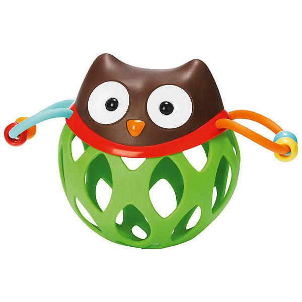 Игрушка-погремушка Шар-сова, Skip HopИгрушки для новорожденных<br>Характеристики товара:<br><br>• возраст от 3 месяцев;<br>• материал: пластик;<br>• размер игрушки 16х11х8,5 см;<br>• вес 130 гр.;<br>• страна производитель: Китай.<br><br>Игрушка-погремушка «Шар-сова» Skip Hop — развивающая игрушка для малышей от 3 месяцев, которую малыш может трясти, катать, трогать ручками. По бокам крылья совенка, сделанные из ниточки с нанизанными бусинами, которые свободно перемещаются. На корпусе имеются прорезиненные детали для прорезывания зубов. Игрушка изготовлена из качественного безвредного пластика. Игрушка способствует развитию хватательного рефлекса, мелкой моторики рук, тактильных ощущений.<br><br>Игрушку-погремушку «Шар-сова» Skip Hop можно приобрести в нашем интернет-магазине.<br>Ширина мм: 197; Глубина мм: 172; Высота мм: 86; Вес г: 118; Цвет: mehrfarbig; Возраст от месяцев: 1; Возраст до месяцев: 36; Пол: Унисекс; Возраст: Детский; SKU: 3971271;