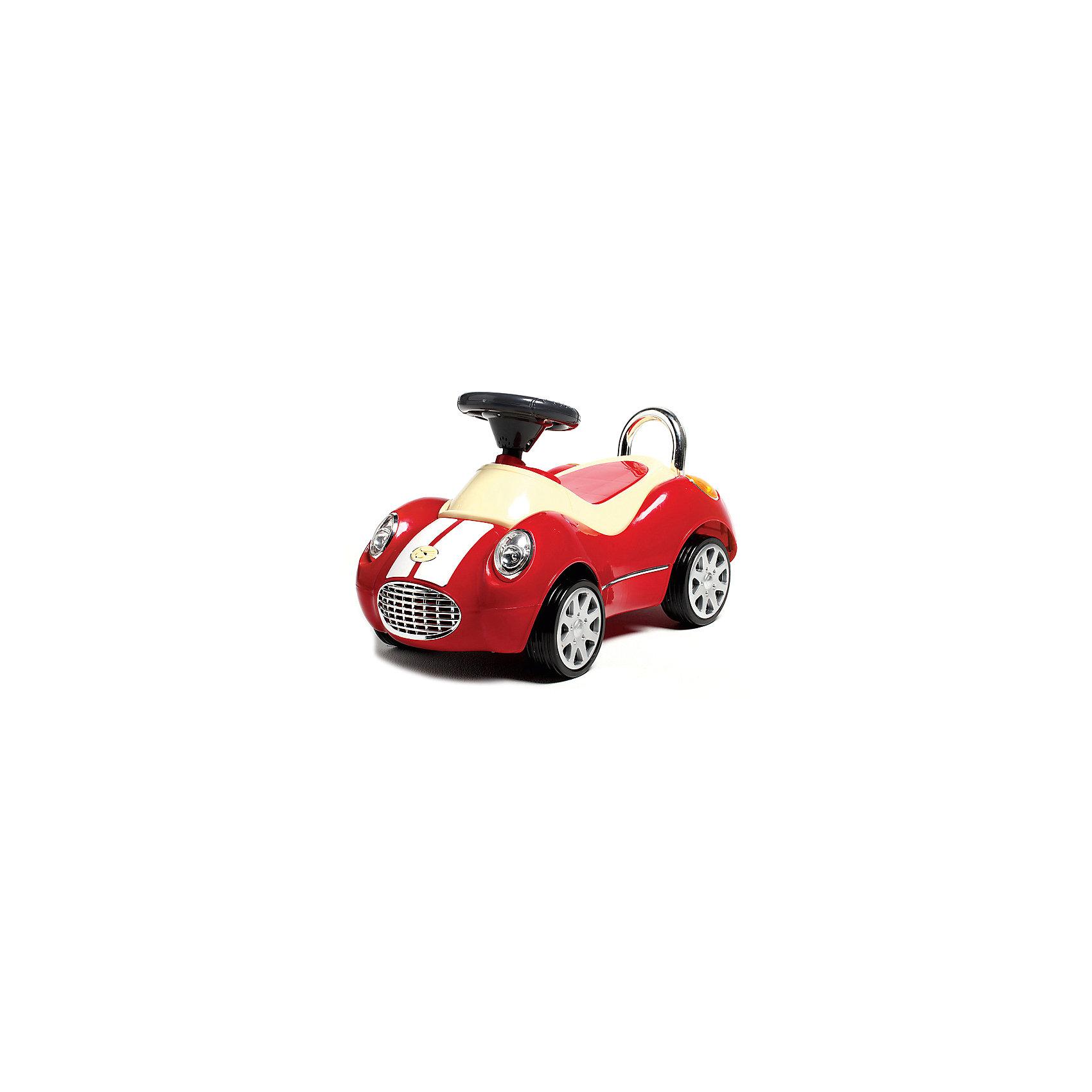Машинка-каталка Кабриолет Люкс FOXY-CAR Happy Baby, краснаяМашинка-каталка FOXY-CAR развивает координацию движений, мускулатуру детей.<br><br>Характеристики: музыкальный сигнал; стильный дизайн мощного внедорожника; прочный пластик; удобное сиденье; для дома и улицы.<br><br>Дополнительная информация:<br><br>- Материал: пластмасса.<br>- Размеры: 71 x 33 x 33 см<br>- Максимальная нагрузка: 15 кг<br><br>Машинку-каталку Кабриолет Люкс FOXY-CAR Happy Baby, красную можно купить в нашем магазине.<br><br>Ширина мм: 710<br>Глубина мм: 355<br>Высота мм: 260<br>Вес г: 4500<br>Цвет: красный<br>Возраст от месяцев: 12<br>Возраст до месяцев: 36<br>Пол: Унисекс<br>Возраст: Детский<br>SKU: 3971619