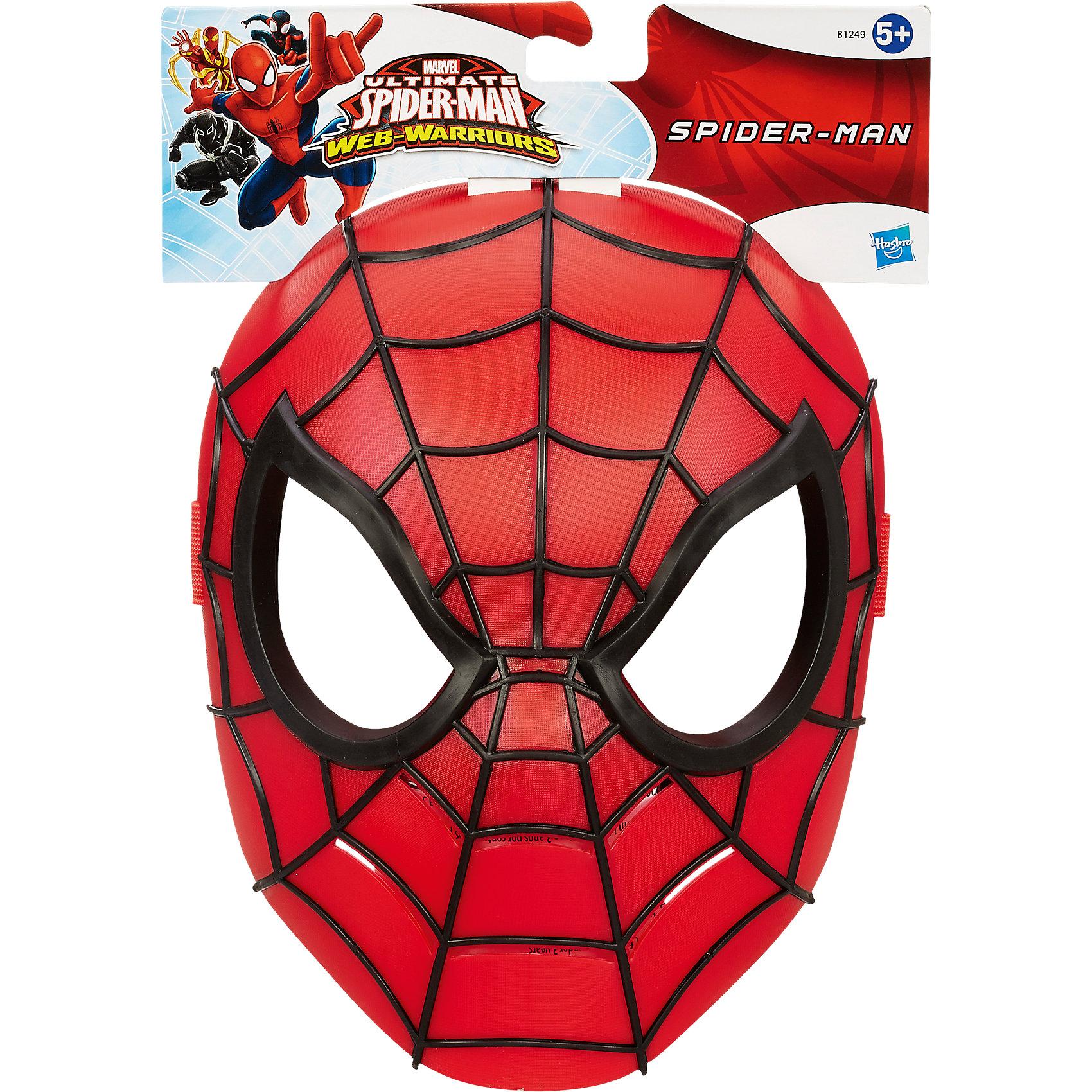 Базовая маска Человека-паука,  в ассортиментеВ этой крутой маске каждый может почувствовать себя настоящим Человеком Пауком и погрузиться в атмосферу захватывающего мультфильма. Маска выполнена из высококачественного пластика, хорошо держится на лице, имеет универсальный размер.<br><br>Дополнительная информация:<br><br>- Материал: пластик.<br>- Размер: 18 см х 22 см х 9 см.<br>- Крепится на лице с помощью широкой резинки. <br><br>ВНИМАНИЕ! Данный артикул представлен в разных вариантах исполнения. К сожалению, заранее выбрать определенный вариант невозможно. При заказе нескольких игрушек  возможно получение одинаковых. <br><br>Базовую маску Человека-паука (Spider-Man)  в ассортименте можно купить в нашем магазине.<br><br>Ширина мм: 250<br>Глубина мм: 196<br>Высота мм: 93<br>Вес г: 161<br>Возраст от месяцев: 48<br>Возраст до месяцев: 96<br>Пол: Мужской<br>Возраст: Детский<br>SKU: 3971706