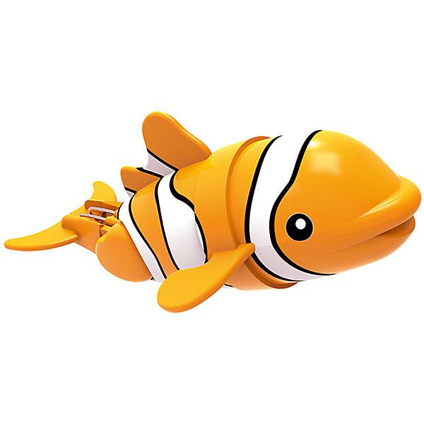 Рыбка-акробат Лакки, 12 см., Море чудесРоборыбки<br>Эта рыбка - акробат выглядит совсем как настоящая яркая морская рыбка, очень реалистично плавает и ныряет. В зависимости от установленного угла наклона хвоста, рыбка может плавать прямо или же по случайной траектории. Игрушка не требует специального ухода, выполнена из высококачественных материалов, безопасна для детей. Рыбка прослужит еще дольше, если после игры вынимать ее из воды. <br><br>Дополнительная информация: <br><br>- Материал: пластик<br>- Размер рыбки: 12 см. <br><br>Рыбку-акробата Лакки, 12 см., Море чудес можно купить в нашем магазине.<br>Ширина мм: 165; Глубина мм: 140; Высота мм: 83; Вес г: 52; Возраст от месяцев: 48; Возраст до месяцев: 144; Пол: Унисекс; Возраст: Детский; SKU: 3972653;