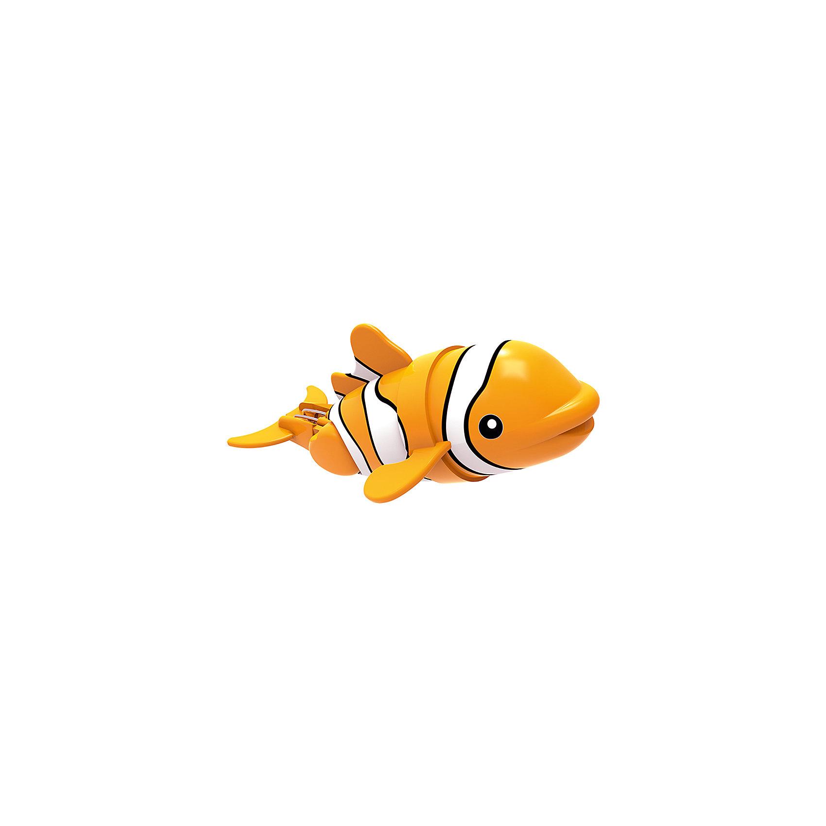 Рыбка-акробат Лакки, 12 см., Море чудесРоборыбки и русалки<br>Эта рыбка - акробат выглядит совсем как настоящая яркая морская рыбка, очень реалистично плавает и ныряет. В зависимости от установленного угла наклона хвоста, рыбка может плавать прямо или же по случайной траектории. Игрушка не требует специального ухода, выполнена из высококачественных материалов, безопасна для детей. Рыбка прослужит еще дольше, если после игры вынимать ее из воды. <br><br>Дополнительная информация: <br><br>- Материал: пластик<br>- Размер рыбки: 12 см. <br><br>Рыбку-акробата Лакки, 12 см., Море чудес можно купить в нашем магазине.<br><br>Ширина мм: 165<br>Глубина мм: 140<br>Высота мм: 83<br>Вес г: 52<br>Возраст от месяцев: 48<br>Возраст до месяцев: 144<br>Пол: Унисекс<br>Возраст: Детский<br>SKU: 3972653