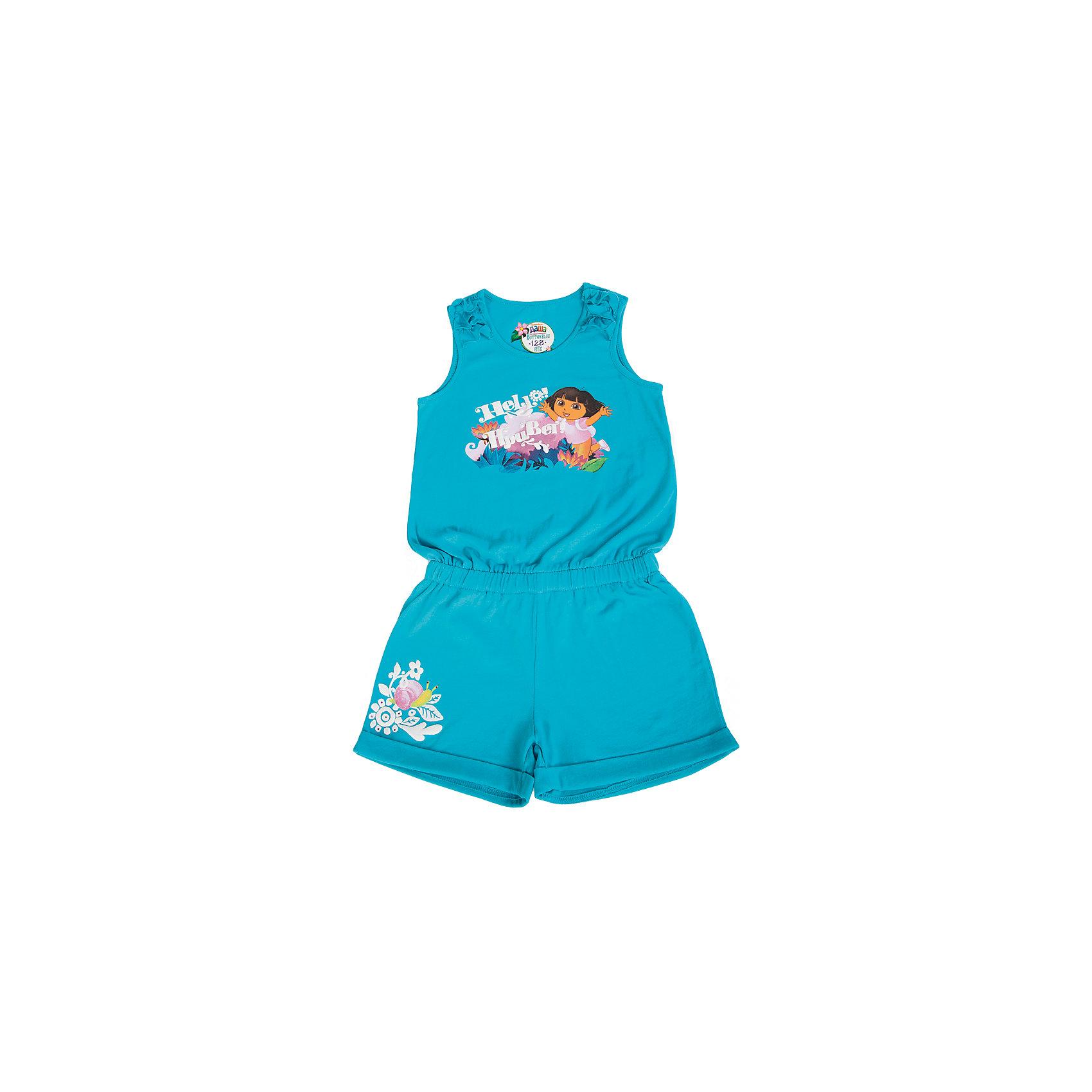 Button Blue Полукомбинезон для девочки Даша-путешественница
