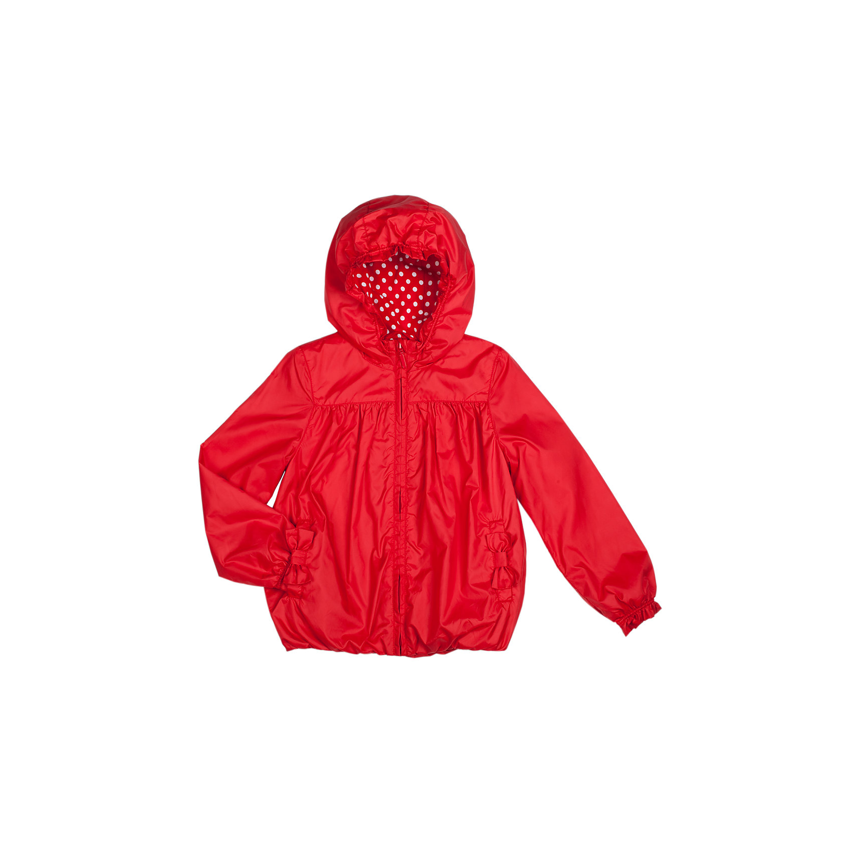 Ветровка для девочки Button BlueЯркая ветровка для девочки с орнаментальной подкладкой в горошек из мягкой хлопковой ткани, защитит от дождя, ветра и прохладной погоды. Входы в карманы отделаны декоративным бантиком. Комфортная, удобная и уютная ветровка идеально подойдет для прогулок и игр на свежем воздухе.<br>Состав:<br>тк. Верха: 100%полиэстер<br>подк:100%хлопок<br><br>Размеры данного бренда маломерят. Рекомендуется заказывать на размер больше.<br><br>Ширина мм: 356<br>Глубина мм: 10<br>Высота мм: 245<br>Вес г: 519<br>Цвет: красный<br>Возраст от месяцев: 24<br>Возраст до месяцев: 36<br>Пол: Женский<br>Возраст: Детский<br>Размер: 98,122,110,116,104<br>SKU: 3979472