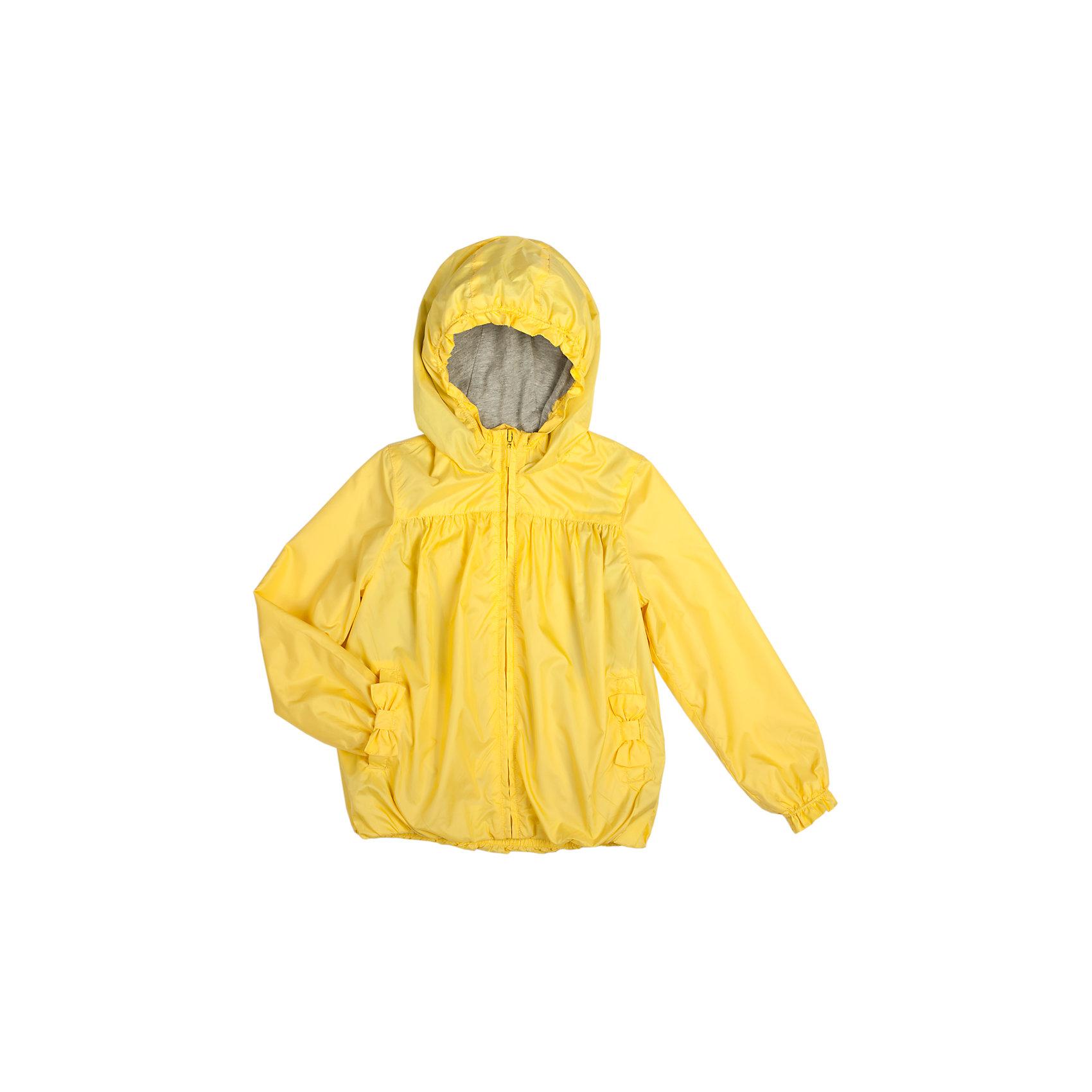 Ветровка для девочки Button BlueВерхняя одежда<br>Яркая ветровка для девочки с подкладкой из мягкой хлопковой ткани  защитит от дождя, ветра и прохладной погоды. Входы в карманы отделаны декоративным бантиком.  Комфортная, удобная и уютная ветровка идеально подойдет для прогулок и игр на свежем воздухе.<br>Состав:<br>тк. Верха: 100%полиэстер<br>подк:100%хлопок<br><br>Размеры данного бренда маломерят. Рекомендуется заказывать на размер больше.<br><br>Ширина мм: 356<br>Глубина мм: 10<br>Высота мм: 245<br>Вес г: 519<br>Цвет: желтый<br>Возраст от месяцев: 36<br>Возраст до месяцев: 48<br>Пол: Женский<br>Возраст: Детский<br>Размер: 104,98,110,122,116<br>SKU: 3979478