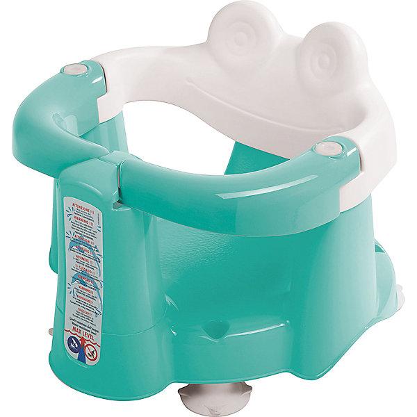 Сиденье в ванну Crab, OK Baby, бирюзовыйТовары для купания<br>Сиденье в ванну Crab, OK Baby поможет сделать купание Вашего малыша комфортным и безопасным. Стульчик в форме забавного крабика прочно фиксируется в ванной с помощью присосок и страхует малыша во время купания. Ограничители в виде клешней открываются и закрываются, надежно удерживают малыша в стульчике и не позволяя ему выбраться самостоятельно. Благодаря удобной анатомической форме сиденья и внутреннему нескользящему покрытию ребенок будет чувствовать себя комфортно. Стульчик также оснащен индикатором уровня воды. <br>Максимально допустимый вес: 13 кг.<br><br>Дополнительная информация:<br><br>- Цвет: бирюзовый.<br>- Возраст: 6-15 месяцев.<br>- Материал: пластик.<br>- Размер: 39,5 х 24 х 37,5 см. <br><br>Сиденье в ванну Crab, OK Baby, бирюзовый, можно купить в нашем интернет-магазине.<br><br>Ширина мм: 380<br>Глубина мм: 240<br>Высота мм: 360<br>Вес г: 2000<br>Возраст от месяцев: 6<br>Возраст до месяцев: 18<br>Пол: Мужской<br>Возраст: Детский<br>SKU: 3981193