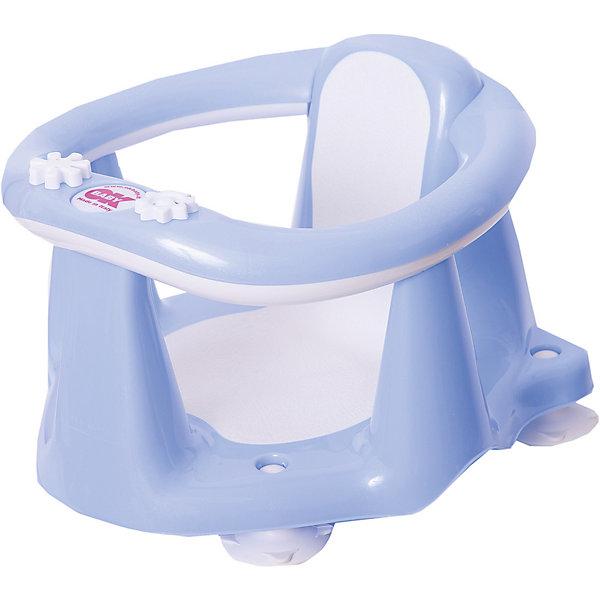 Сиденье в ванну Flipper Evolution, OK Baby, светло-голубойТовары для купания<br>Сиденье в ванну Flipper Evolution, OK Baby поможет сделать купание Вашего малыша комфортным и безопасным. Стульчик с ярким оригинальным дизайном прочно фиксируется в ванной с помощью присосок и страхует малыша во время купания. Ограничители-перекладины надежно удерживают малыша в стульчике и не позволяют ему выбраться самостоятельно. Благодаря удобной анатомической форме сиденья и прорезиненному нескользящему покрытию ребенок будет чувствовать себя комфортно. Стульчик также<br>оснащен встроенным термометром и индикатором уровня воды. <br>Максимально допустимый вес: 13 кг.<br><br>Дополнительная информация:<br><br>- Цвет: голубой.<br>- Возраст: 6-15 месяцев.<br>- Материал: пластик.<br>- Размер: 38 х 24 х 36 см. <br>- Вес: 0,7 кг.<br><br>Сиденье в ванну Flipper Evolution, OK Baby, голубой, можно купить в нашем интернет-магазине.<br><br>Ширина мм: 380<br>Глубина мм: 240<br>Высота мм: 360<br>Вес г: 1577<br>Возраст от месяцев: 6<br>Возраст до месяцев: 18<br>Пол: Мужской<br>Возраст: Детский<br>SKU: 3981194