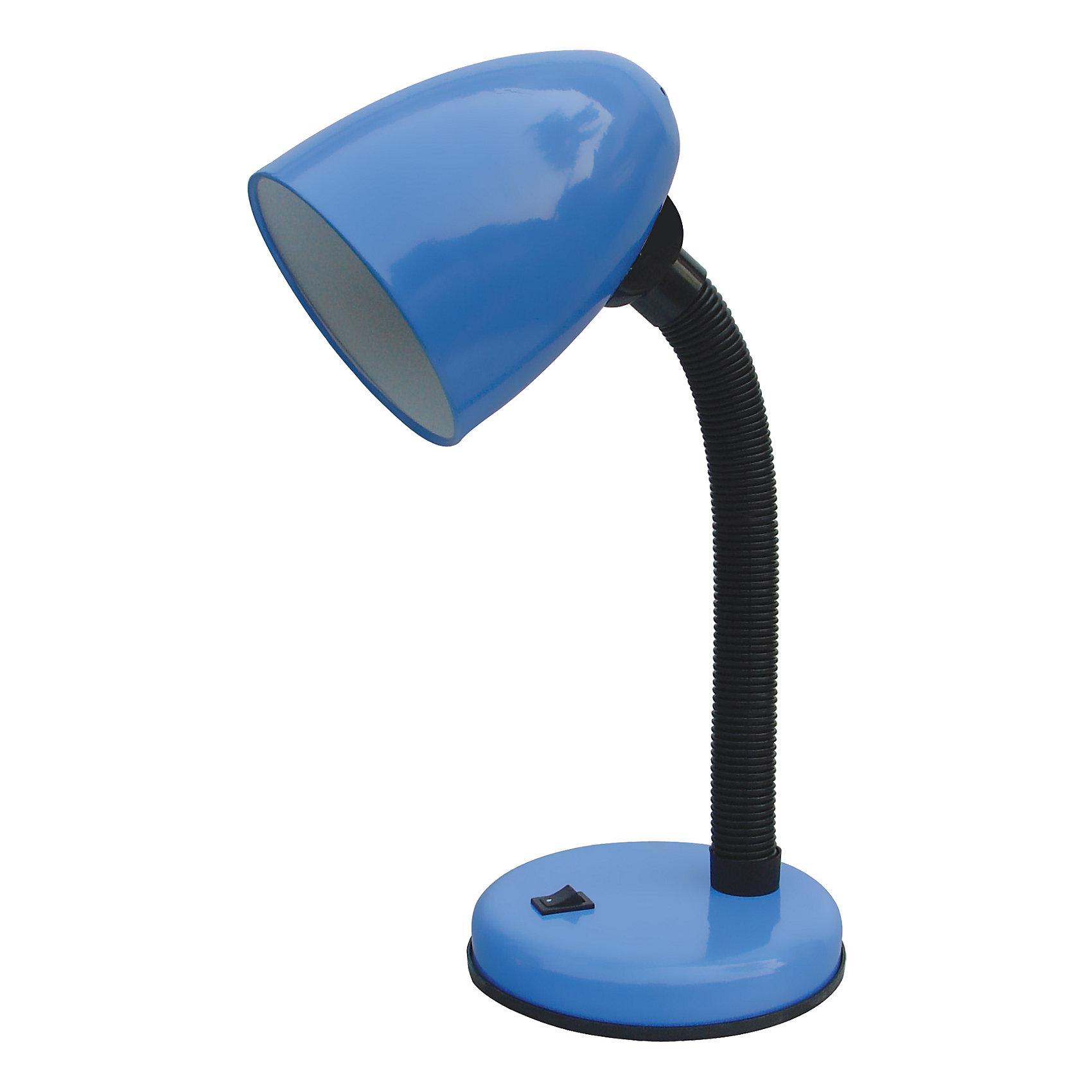 Лампа электрическая настольная EN-DL12-1, Energy, синийМощность: 40 Вт<br>Длина шнура: 1,2 м<br>Высота лампы: 366 мм<br>Диаметр абажура: 105 мм<br>Для лампочек со стандартным цоколем Е27 ( в комплект не входит)<br><br>Ширина мм: 160<br>Глубина мм: 140<br>Высота мм: 210<br>Вес г: 793<br>Возраст от месяцев: 36<br>Возраст до месяцев: 1080<br>Пол: Унисекс<br>Возраст: Детский<br>SKU: 3982234