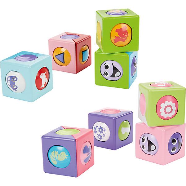 Волшебные кубики, Fisher-PriceКубики<br>Эти волшебные кубики не оставят равнодушным ни одного ребенка! В каждый «волшебный кубик» встроен шарик с рисунками,<br>добавляющий новый элемент в любимую игру. «Волшебные кубики»<br>могут не только прекрасно складываться друг на друга, но еще и катаются по полу, благодаря встроенным в них шарикам. Игра с кубиками способствует развитию моторики, зрительно-двигательной координации, способностей к конструированию и внимание. Игрушки выполнены из высококачественных гипоаллергенных материалов, безопасны для детей.<br><br>Дополнительная информация:<br><br>- Материал: пластик.<br>- Размер  упаковки: 11.5 ? 7 ? 28 см.<br>- 4 шт в упаковке.<br><br>Волшебные кубики, Fisher-Price (Фишер Прайс), можно купить в нашем магазине.<br><br>Ширина мм: 115<br>Глубина мм: 70<br>Высота мм: 280<br>Вес г: 296<br>Возраст от месяцев: 6<br>Возраст до месяцев: 36<br>Пол: Унисекс<br>Возраст: Детский<br>SKU: 3985771