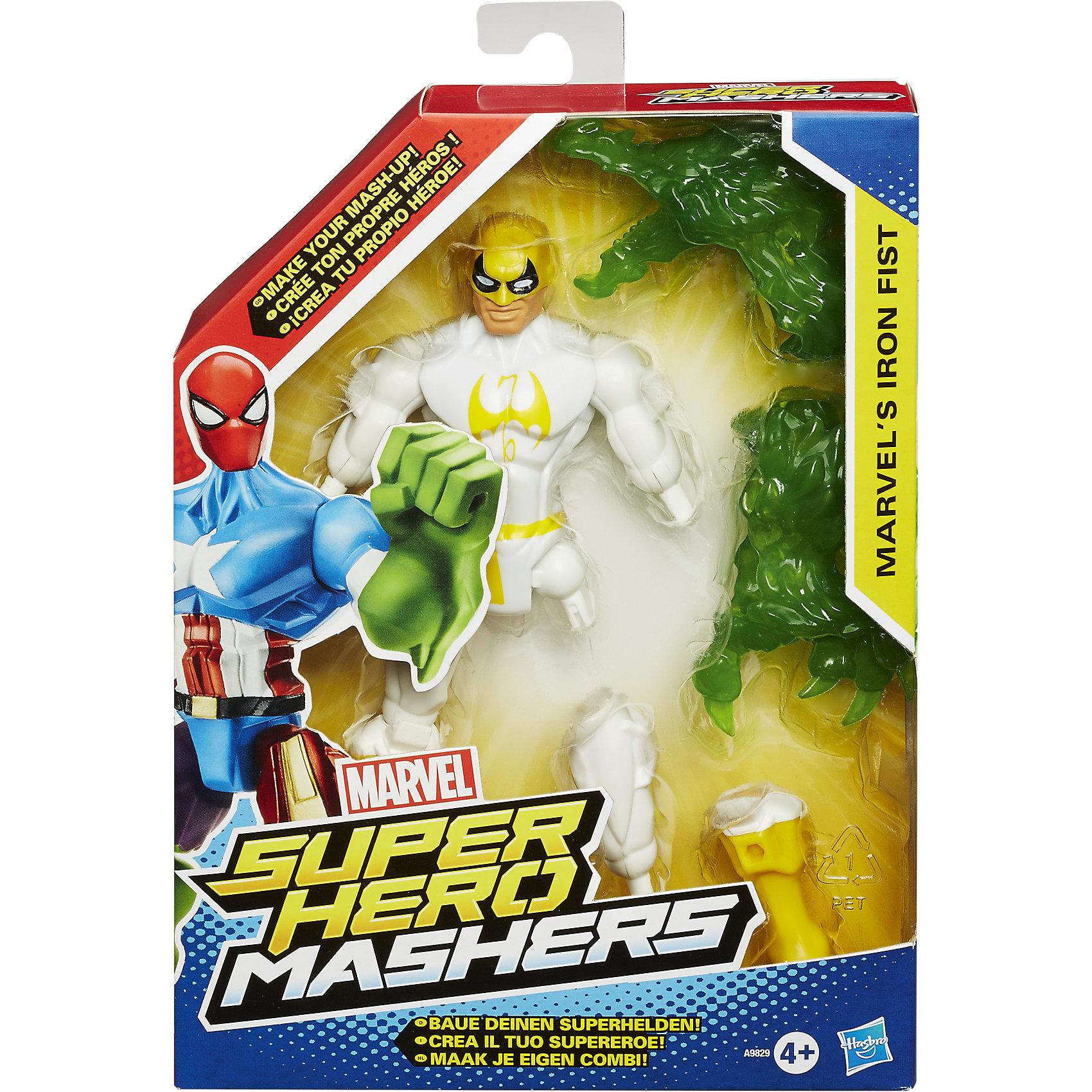 Разборные фигурки Марвел, Hero Mashers, в ассортиментеПопробуй совершенно новый способ игры с героями Марвел. Разбирай фигурки и собирай своего супергероя, объединяя способности разных героев. Фигурки можно использовать с героями других линеек. Игрушки выполнены из высококачественных безопасных материалов, прекрасно детализированы, максимально похожи на персонажей фильма.  Разборные игрушки помогают развить мелкую моторику, логическое мышление и воображение ребенка.<br><br>Дополнительная информация:<br><br>- Комплектация: фигурка, аксессуар. <br>- Размер: 15 см.<br>- Материал: пластик.<br>- Игрушка в ассортименте.<br>ВНИМАНИЕ! Данный артикул представлен в разных вариантах исполнения. К сожалению, заранее выбрать определенный вариант невозможно. При заказе нескольких игрушек возможно получение одинаковых.<br><br>Разборные фигурки Марвел, Hero Mashers, в ассортименте можно купить в нашем магазине.<br><br>Ширина мм: 210<br>Глубина мм: 154<br>Высота мм: 45<br>Вес г: 181<br>Возраст от месяцев: 48<br>Возраст до месяцев: 96<br>Пол: Мужской<br>Возраст: Детский<br>SKU: 3986107