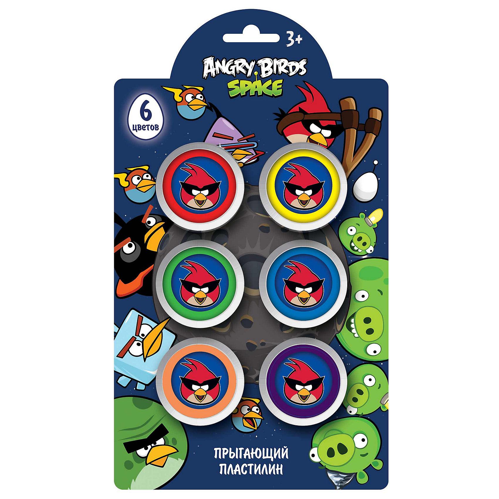 Шариковый пластилин, 6 цветов, Angry BirdsШариковый пластилин, 6 цветов, Angry Birds – это идеальный пластичный материал для изготовления плоских и объемных фигур.<br>С помощью высокопластичного мелкозернистого шарикового пластилина Cut the Rope можно вылепить различные предметы, а также использовать для декорирования (раскрашивания) бумаги, предметов интерьера. Шариковый пластилин - это необычный пластилин, который состоит из маленьких шариков, напоминающих бусинки, соединенных тончайшими клеевыми нитями. Материал очень легкий, воздушный и совсем не липнет к рукам. Цвета легко смешиваются друг с другом, образуя разноцветную шариковую массу. Застывая, пластилин становится твердым и хорошо держит форму. При высыхании можно восстановить пластичность посредством добавления небольшого количества воды. Шариковый пластилин отлично развивает мелкую моторику рук, мышление ребенка и раскрывает творческое начало у малыша.<br><br>Дополнительная информация:<br><br>- Количество цветов: 6 по 8 гр.<br>- Размер упаковки: 2,5 х 20 х 13 см.<br>- Вес: 160 гр.<br><br>Шариковый пластилин, 6 цветов, Angry Birds (Сердитые Птицы) можно купить в нашем интернет-магазине.<br><br>Ширина мм: 25<br>Глубина мм: 200<br>Высота мм: 130<br>Вес г: 160<br>Возраст от месяцев: 48<br>Возраст до месяцев: 96<br>Пол: Унисекс<br>Возраст: Детский<br>SKU: 3986175