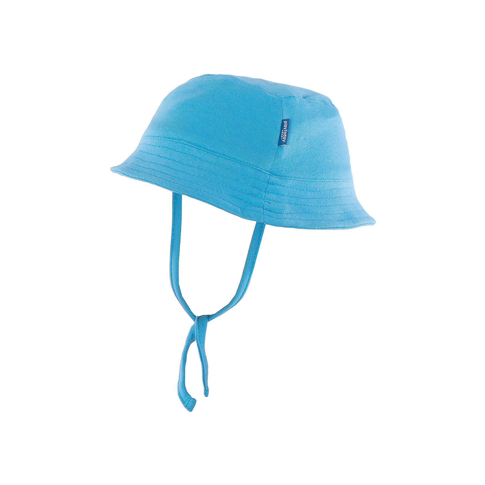 Панама для мальчика PlayTodayШапочки<br>Панама для мальчика от известного бренда PlayToday.  <br>Состав: 100% хлопок<br><br>Ширина мм: 89<br>Глубина мм: 117<br>Высота мм: 44<br>Вес г: 155<br>Цвет: голубой<br>Возраст от месяцев: 0<br>Возраст до месяцев: 3<br>Пол: Мужской<br>Возраст: Детский<br>Размер: 40,44,42<br>SKU: 3987294