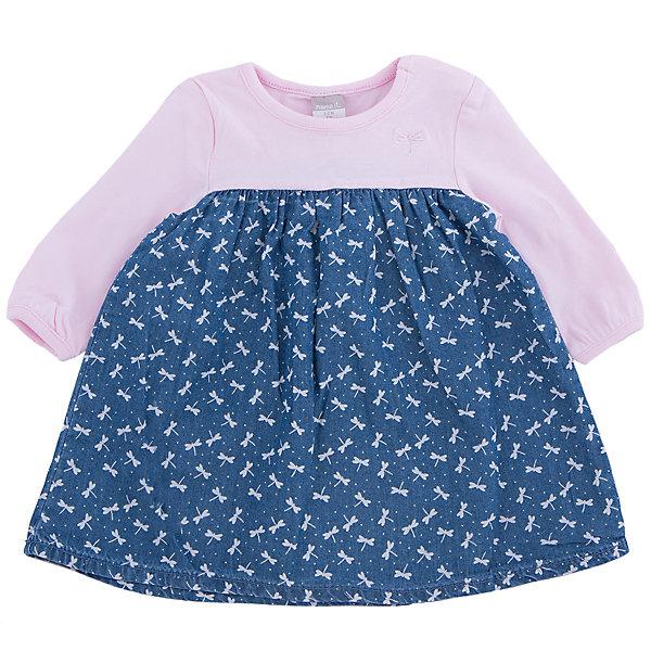 Платье name itПлатья<br>Очаровательное джинсовое платье для девочки от популярного скандинавского бренда name it. Изделие выполнено из натурального гипоаллергенного денима, дышащего, невероятно мягкого и приятного к телу, и обладает следующими особенностями:<br>- комбинированный цвет, милый принт;<br>- верхняя часть розового цвета выполнена из мягчайшего натурального трикотажа;<br>- округлый вырез горловины;<br>- 2 кнопки на левом плече;<br>- эластичная отделка ворота и манжет;<br>- широкий подол;<br>- комфортный крой.<br>Прекрасное платьице для самой любимой девочки!<br><br>Дополнительная информация:<br>Состав: 100% хлопок<br><br>Платье name it (нэйм ит) можно купить в нашем магазине<br>Ширина мм: 236; Глубина мм: 16; Высота мм: 184; Вес г: 177; Цвет: розовый; Возраст от месяцев: 0; Возраст до месяцев: 3; Пол: Женский; Возраст: Детский; Размер: 56,74,68,62; SKU: 3989403;