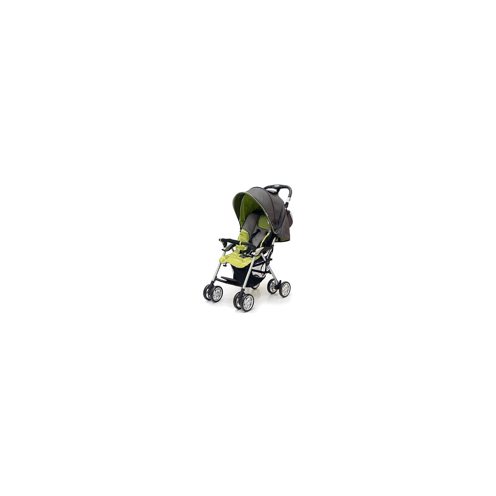 Прогулочная коляска Elegant, Jetem, темно-серый/зеленыйJetem Elegant – легкая коляска-трость, идеальный выбор для летних прогулок или поездки за город. Благодаря четырем парам сдвоенных колес, модель очень маневренна и устойчива. Большой капюшон опускается до бампера, жесткая спинка со встроенным матрасом регулируется по высоте, до практически горизонтального положения - это обеспечивает малышу комфортный отдых в любой ситуации. Кроме того, в комплект входит утепленная накидка на ноги и сумочка для аксессуаров. 5-титочечные ремни и съемный бампер обеспечивают удобное и безопасное размещение крохи. Коляска очень легко и удобно складывается, занимает мало места при хранении и транспортировке. Имеется удобная ручка для переноски и вместительная корзина для вещей внизу. <br><br>Дополнительная информация:<br><br>- Механизм складывания: трость.<br>- Комплектация: коляска, сумка для мамы, накидка на ноги.<br>- Материал: металл, пластик, текстиль, резина.<br>- Размер в сложенном виде: 15х30х98 см.<br>- Размер колесной базы: 40х53 см<br>- Размер сиденья: 33х20 см.<br>- Длина спального места: 60 см.<br>- Вес: 5,7<br>- Количество колес: 4 (сдвоенные).<br>- Диаметр колес: 14 см.<br>- Цвет: темно-серый, зеленый.<br>- Передние колеса поворотные, с возможностью блокировки.<br>- Система амортизации.<br>- Стояночный тормоз.<br>- 5-ти точечные ремни безопасности.<br>- Съемный бампер.<br>- Регулировка спинки в 3 положениях (максимальный наклон 170 градусов).<br>- Солнцезащитный козырек.<br>- Вместительная корзина для покупок.<br><br>Прогулочную коляску Elegant, Jetem (Жетем), темно-серую/зеленую, можно купить в нашем магазине.<br><br>Ширина мм: 940<br>Глубина мм: 280<br>Высота мм: 200<br>Вес г: 6700<br>Возраст от месяцев: 6<br>Возраст до месяцев: 36<br>Пол: Унисекс<br>Возраст: Детский<br>SKU: 3995805