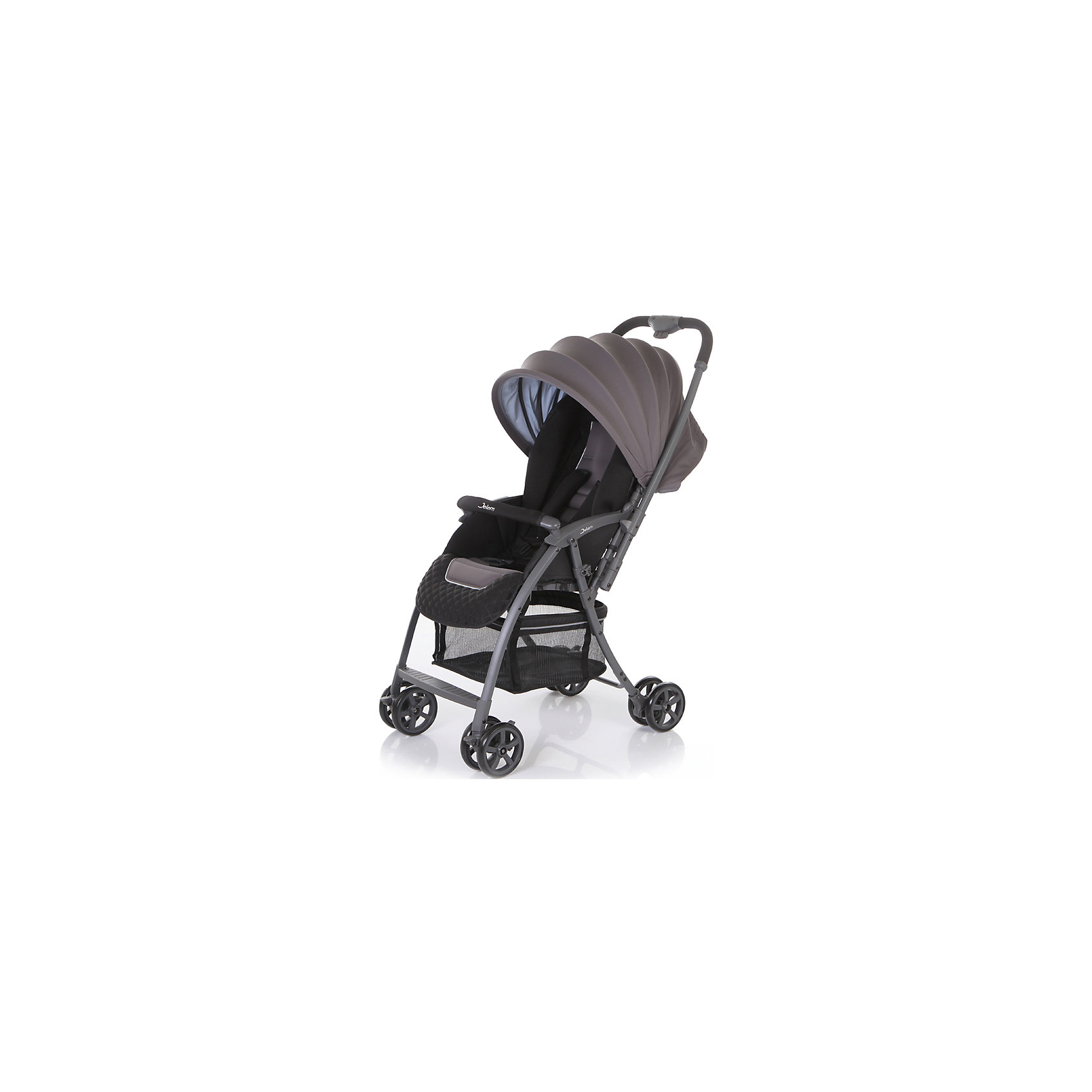 Прогулочная коляска Uno, Jetem, серыйJetem Uno – уникально легкая и функциональная коляска с перекидной ручкой. Идеально подходит для отдыха и прогулок, ее удобно брать с собой в поездки и длительные путешествия. Сдвоенные колеса обеспечивают хорошую проходимость и устойчивость. Передние поворотные колеса с фиксацией - для маневренности и быстроты передвижения. Регулируемая с помощью ремня спинка и большой капюшон, раскладывающийся до бампера, позволят вашему крохе спокойно отдыхать в любой ситуации. Материал обивки мягкий и приятный на ощупь, он легко моется и быстро сохнет. 5-титочечные ремни и мягкий съемный бампер обеспечивают комфорт и безопасность даже самому активному малышу. Коляска быстро и легко складывается, в сложенном виде может самостоятельно стоять, занимает очень мало места при транспортировке и хранении. <br><br>Дополнительная информация:<br><br>- Механизм складывания: книжка.<br>- Комплектация: коляска, чехол на ножки.<br>- Материал: металл, пластик, текстиль, резина.<br>- Размер: 59х45х110 см<br>- Размер в сложенном виде: 27х45х94 см.<br>- Размер колесной базы: 59 см.<br>- Ширина сиденья: 32 см.<br>- Вес: 4,7<br>- Количество колес: 4 (сдвоенные).<br>- Диаметр колес: 12,7 см.<br>- Цвет: серый.<br>- Передние колеса поворотные, с возможностью блокировки.<br>- Стояночный тормоз.<br>- 5-ти точечные ремни безопасности.<br>- Съемный бампер.<br>- Регулировка спинки в 3 положениях. <br>- регулируемая подножка.<br>- Перекидная ручка.<br>- Солнцезащитный козырек.<br>- Вместительная корзина для покупок.<br><br>Прогулочную коляску Uno, Jetem (Жетем), серую, можно купить в нашем магазине.<br><br>Ширина мм: 1000<br>Глубина мм: 450<br>Высота мм: 270<br>Вес г: 6750<br>Возраст от месяцев: 6<br>Возраст до месяцев: 36<br>Пол: Унисекс<br>Возраст: Детский<br>SKU: 3995814