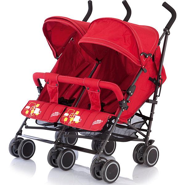 Коляска-трость для двойни Baby Care Citi Twin, красныйКоляски для двойни<br>Baby Care Citi Twin – сверхлегкая коляска-трость для двойни. Идеальный вариант для путешествий или летних городских прогулок.  Данная модель вобрала в себя весь необходимый функционал трости Baby Care City Style и значительно улучшила его. Рама установлена на шести парах сдвоенных колес, что делает ее максимально маневренной и устойчивой на любой поверхности. Спинки, подножки и глубокие козырьки на обоих сиденьях регулируются независимо друг от друга. Есть возможность получить два почти горизонтальных спальных места (до 170 градусов), для комфортного отдыха малышей. Бампер, как и чехол на ножки – один на двоих. Коляска легко и компактно складывается, имеет удобную ручку для переноски, занимает мало места при хранении и транспортировке.<br><br>Дополнительная информация:<br><br>- Для двойни.<br>- Расположение блоков: рядом.<br>- Механизм складывания: трость.<br>- Комплектация: коляска, чехол на ножки, дождевик.<br>- Материал: металл, пластик, текстиль, резина.<br>- Размер колесной базы: 85 см.<br>- Длина колесной базы: 53 см<br>- Ширина сидений: 34х19 см.<br>- Размер спального места: 78х34 см.<br>- Вес: 14 кг<br>- Количество колес: 6 (сдвоенные).<br>- Диаметр колес: 15 см.<br>- Цвет: красный.<br>- Передние колеса поворотные, с возможностью блокировки.<br>- Стояночный тормоз.<br>- 5-ти точечные ремни безопасности.<br>- Съемный бампер.<br>- Регулировка спинки в 3 положениях. <br>- Регулируются независимо друг от друга: спинка, подножка, козырек.<br>- Один на двоих: бампер, чехол на ножки.<br>- Регулируемые подножки.<br>- Солнцезащитный козырек.<br>- Вместительная корзина для покупок.<br><br>Коляску-трость для двойни Citi Twin, Baby Care, красную, можно купить в нашем магазине.<br><br>Ширина мм: 1060<br>Глубина мм: 390<br>Высота мм: 220<br>Вес г: 16000<br>Возраст от месяцев: 6<br>Возраст до месяцев: 36<br>Пол: Унисекс<br>Возраст: Детский<br>SKU: 3995832