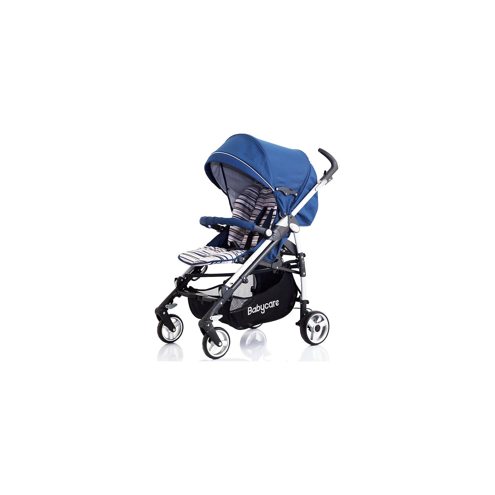 Коляска-трость GT4, Baby Care, синийХарактеристики коляски-трости Baby Care GT4:<br><br>• спинка коляски регулируется в 3-х положениях, угол наклона почти 170 градусов;<br>• подножка регулируется в 2-х положениях, удлиняет спальное место;<br>• 5-ти точечные ремни безопасности;<br>• глубокий капюшон с дополнительной секцией опускается до бампера;<br>• капюшон оснащен солнцезащитным козырьком со светоотражающей накладкой;<br>• на задней стороне капюшона есть кармашек для мелочей;<br>• съемный бампер с мягкой накладкой;<br>• корзина для покупок;<br>• материал: пластик, полиэстер;<br>• размер коляски в разложенном виде: 103х51х87 см;<br>• размер коляски в сложенном виде: 99х31х29 см;<br>• вес коляски: 10,1 кг;<br>• допустимый вес ребенка: до 15 кг.<br><br>Характеристики шасси коляски:<br><br>• механизм складывания: трость;<br>• защита от случайного раскладывания коляски;<br>• одинарные колеса с пружинными подвесками;<br>• передние поворотные с блокировкой;<br>• на задних колесах реечный тормоз;<br>• материал рамы: алюминий;<br>• материал колес: пеноплен (вспененная резина);<br>• диаметр колес: 16 см, 18 см;<br>• ширина колесной базы: 51 см.<br><br>Компактная коляска-трость GT4 предназначена для детей в возрасте от 7 месяцев до 4-х лет. Спинка коляски и подножка регулируются, ребенок может спокойно спать в прогулочном блоке при горизонтально разложенной спинке и подножке коляски. Утепленный чехол на ножки защищает малыша от ветра и непогоды, а глубокий капюшон с дополнительной секцией, раскладывающийся до бампера, скроет кроху от нежелательных глаз, защитит от ветра и солнечных лучей, поможет обустроить уютное гнездышко для сна. <br><br>Комплектация:<br><br>• коляска-трость GT4;<br>• дождевик;<br>• чехол на ножки;<br>• инструкция. <br><br>Коляску-трость GT4 Baby Care, синюю можно купить в нашем интернет-магазине.<br><br>Ширина мм: 1040<br>Глубина мм: 350<br>Высота мм: 350<br>Вес г: 12000<br>Возраст от месяцев: 6<br>Возраст до месяцев: 36<br>Пол: Унисекс<br>Возраст: Детск