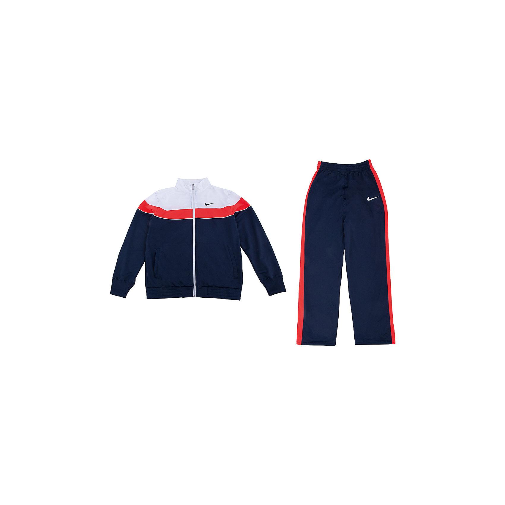 NIKE, Спортивный костюм для мальчика t45 t adj warm up yth