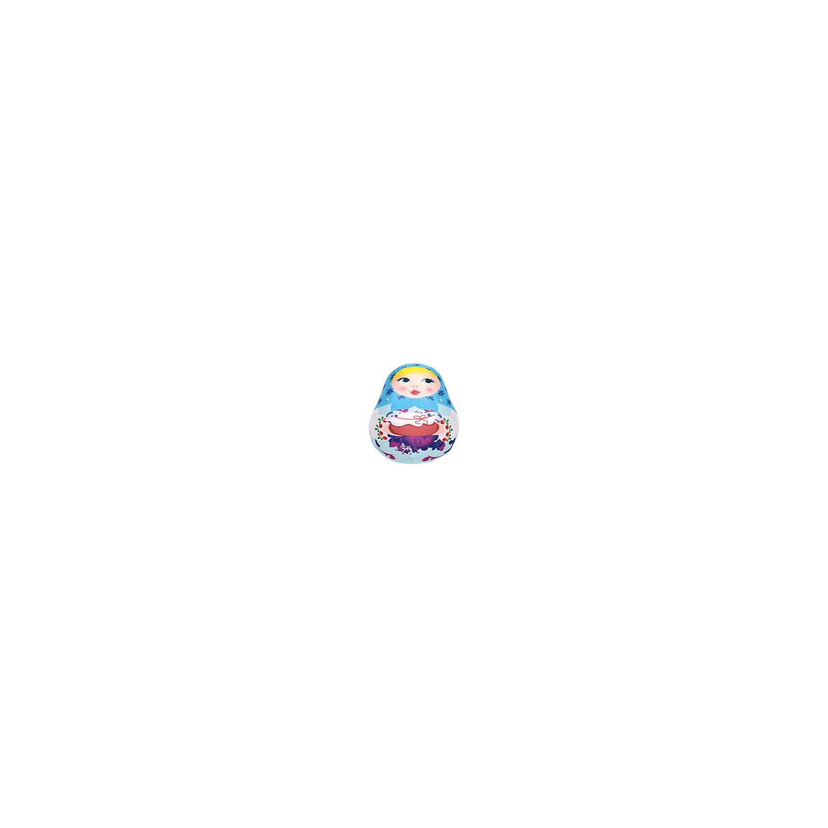 Матрешка (цвет: синий)Подушка Матрешка Small Toys - милая забавная игрушка, которая порадует и поднимет настроение как детям так и взрослым. Подушка выполнена в виде симпатиной красочной матрешки с горшочком в руках. Основное достоинство игрушки - это осязательный массаж с эффектом релаксации. Гладкая поверхность матрешки изготовлена из эластичного прочного трикотажа, а внутри игрушки находятся мельчайшие гранулы полистирола, благодаря которым игрушка всегда будет легкой, упругой и приятной на ощупь. Матрешку<br>можно мять и сжимать, но она неизменно возвращает себе первоначальную форму. <br><br>Дополнительная информация:<br><br>- Цвет: синий.<br>- Материал: внешний материал: трикотаж, наполнитель: полистирол.<br>- Высота: 25 см.<br>- Размер: 25 х 16 х 10 см.<br>- Вес: 100 гр.<br> <br>Подушку Матрешка, Small Toys (СмолТойс), можно купить в нашем интернет-магазине.<br><br>Ширина мм: 100<br>Глубина мм: 160<br>Высота мм: 250<br>Вес г: 100<br>Возраст от месяцев: 36<br>Возраст до месяцев: 108<br>Пол: Унисекс<br>Возраст: Детский<br>SKU: 3996219