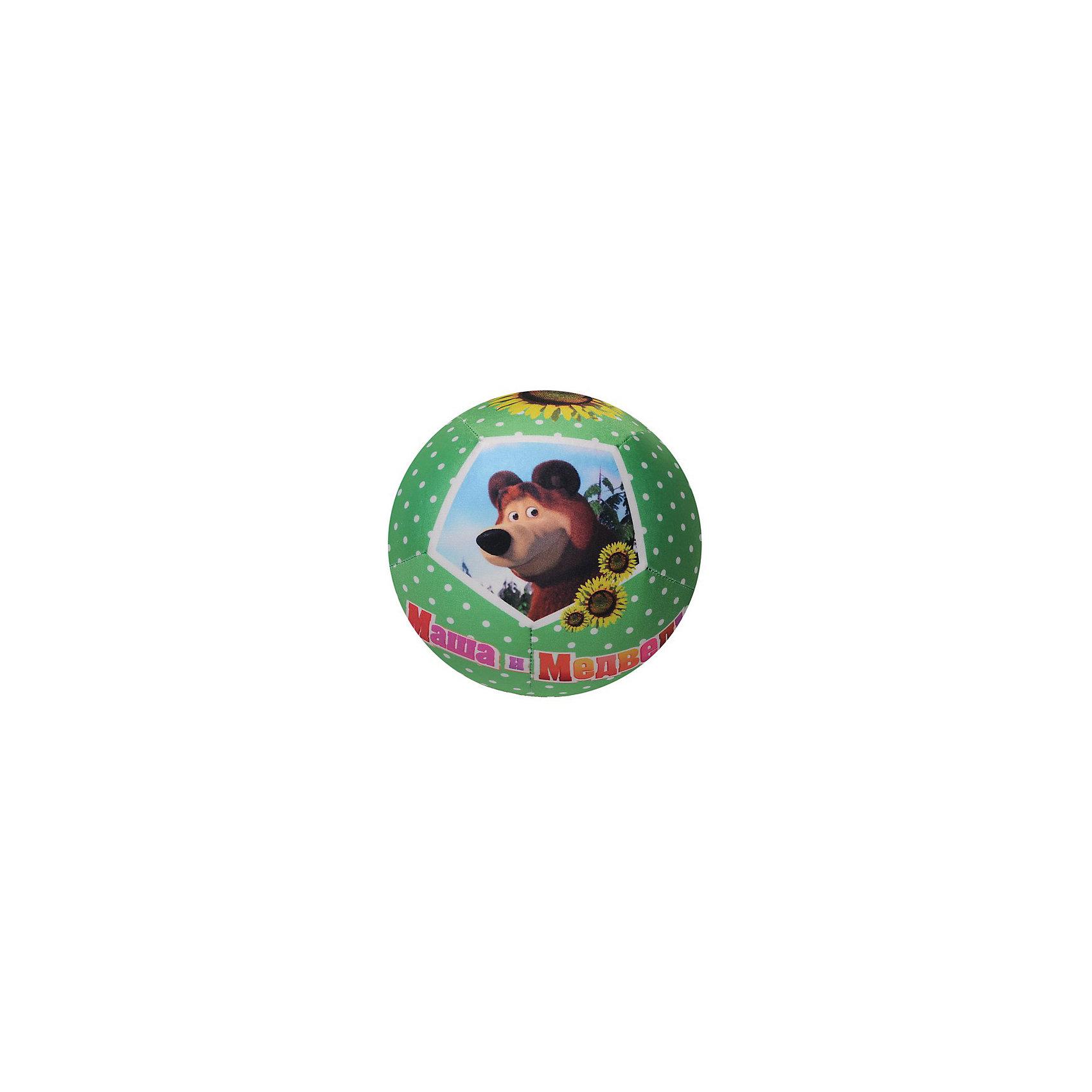 СмолТойс Мяч-антистресс Маша и медведь сувенир мяч антистресс