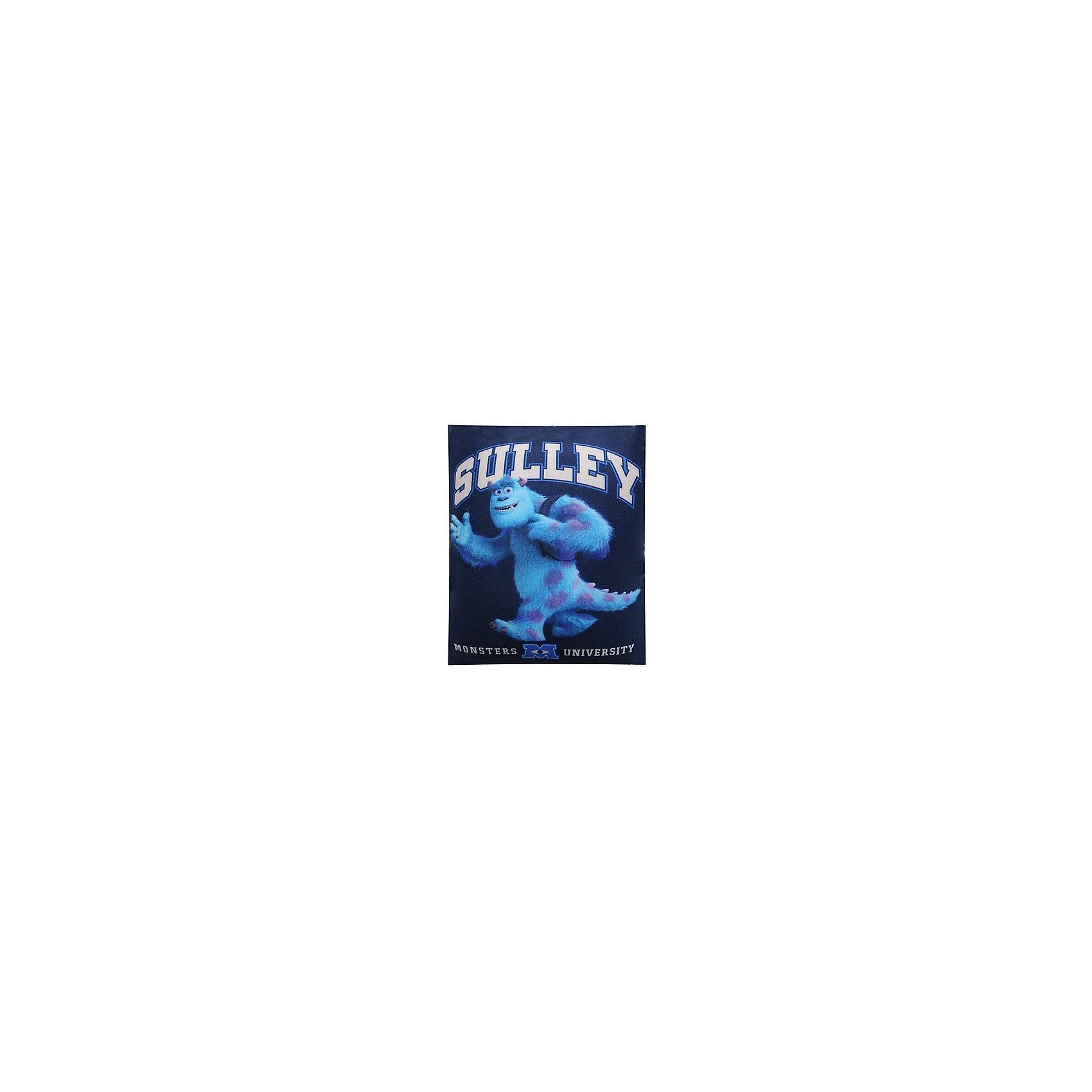 Подушка Салли 18*15 см, Университет монстровПодушка-антистресс Салли, Университет монстров, порадует и поднимет настроение как детям так и взрослым. Подушка с оригинальным дизайном украшена изображением забавного синего монстра Салли из популярного мультсериала Университет монстров (Monsters University). Основное достоинство подушки - это осязательный массаж с эффектом релаксации. Гладкая поверхность подушки выполнена из эластичного прочного трикотажа, а внутри находятся мельчайшие гранулы полистирола, благодаря которым<br>она всегда будет легкой, упругой и приятной на ощупь. Подушку можно мять и сжимать, но она неизменно возвращает себе первоначальную форму. Можно стирать в стиральной машинке в специальном мешке для одежды. <br><br>Дополнительная информация:<br><br>- Материал: внешний материал: эластичный прочный трикотаж, наполнитель: полистирол.<br>- Размер подушки: 7 х 15 х 18 см.<br>- Вес: 200 г.<br><br>Ширина мм: 70<br>Глубина мм: 150<br>Высота мм: 180<br>Вес г: 200<br>Возраст от месяцев: 36<br>Возраст до месяцев: 192<br>Пол: Унисекс<br>Возраст: Детский<br>SKU: 3996238
