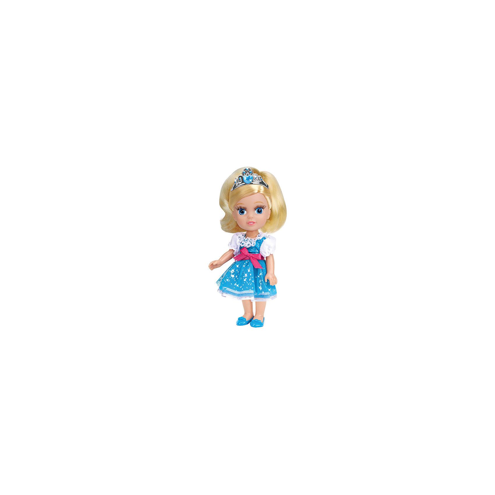 Кукла Золушка, 15 см, со звуком, Принцессы Дисней, Карапуз, с аксессуарамиВсе малышки обожают диснеевские сказки про принцесс! Но до того, как Золушка попала на бал, она была очаровательной малышкой, такой как куколка Золушка  из серии Disney Princess (Принцессы Диснея), Карапуз. Малышка Золушка совершенно очаровательное создание: у нее выразительные глазки, длинные ресницы и шелковистые волосы.  Девочка будет с восхищением расчесывать Золушку, переодевать и слушать замечательную песенку. Прекрасное платьице малышки можно снимать и придумывать ей другие наряды, еще Золушка умеет говорить! Золушка довольно компактная, благодаря чему ее легко везде брать с собой!<br><br>Дополнительная информация:<br><br>- Комплект: кукла, расческа, диадема, туфельки;<br>- Куколка говорит фразу и поет песенку;<br>- Куколка создана по мотивам мультфильмов Disney (Дисней);<br>- Работает от  батареек: 3 х AG3 / LR41 (таблетки);<br>- Материал: пластик, текстиль;<br>- Прекрасная детализация;<br>- Ручки и ножки подвижны;<br>- Высота куколки: 15 см;<br>- Вес: 170 г<br><br>Куклу Золушка, 15 см, со звуком, Disney Princess (Принцессы Диснея), Карапуз, с аксессуарами можно купить в нашем интернет-магазине.<br><br>Ширина мм: 210<br>Глубина мм: 150<br>Высота мм: 70<br>Вес г: 170<br>Возраст от месяцев: 36<br>Возраст до месяцев: 84<br>Пол: Женский<br>Возраст: Детский<br>SKU: 3996821