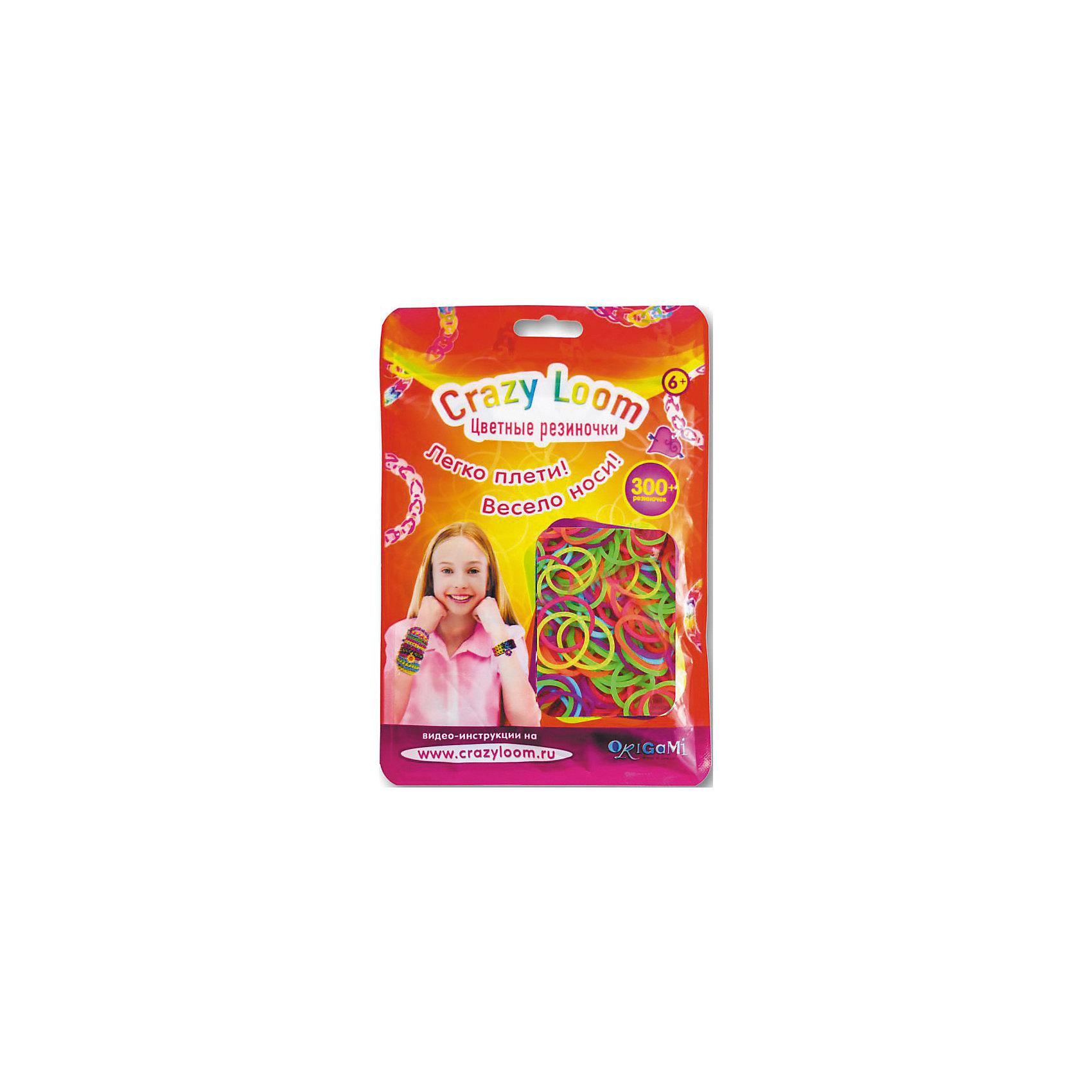 Набор резиночек для плетения Неон 300 шт, Crazy LoomНаборы Crazy Loom. Цветные резиночки - это веселое развлечение для детей и взрослых. Весь мир с удовольствием плетет разнообразные украшения для себя и друзей. Присоединяйтесь и Вы!  Цветные резиночки это уникальная возможность проявить свою фантазию и творческие способности! <br><br>Дополнительная информация:<br><br>В наборе:<br>- 300 резиночек, <br>- крючок, <br>- 15 замочков,                                     <br><br>Набор резиночек для плетения Неон (300шт), Crazy Loom можно купить в нашем магазине.<br><br>Ширина мм: 170<br>Глубина мм: 116<br>Высота мм: 10<br>Вес г: 33<br>Возраст от месяцев: 72<br>Возраст до месяцев: 180<br>Пол: Женский<br>Возраст: Детский<br>SKU: 3998103