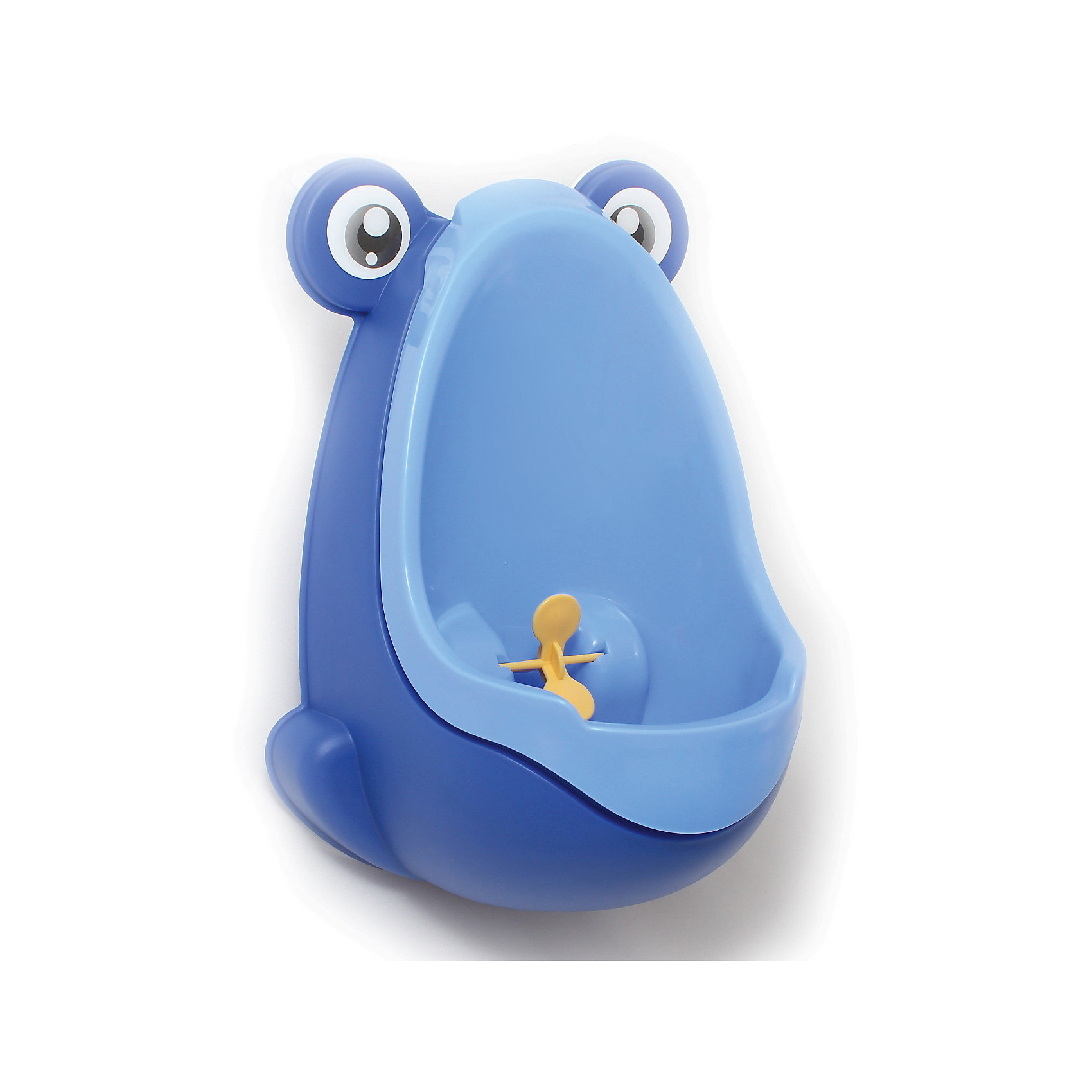 Писсуар с прицелом Лягушка, Roxy-kids, синийДетские горшки<br>Писсуар с прицелом, Roxy-kids (Рокси-кидс) поможет вашему малышу легко и быстро приучиться ходить во взрослый туалет. Яркий оригинальный писсуар в форме лягушонка обязательно понравится ребенку и в игровой форме поможет малышу овладеть необходимыми гигиеническими навыками. Изделие выполнено из прочного пластика, может крепиться на стену с помощью присосок, расположенных на задней стенке. <br><br>Дополнительная информация:<br><br>- Размер: 15х21х30 см.<br>- Материал: пластик.<br>- Цвет: синий.<br><br>Писсуар с прицелом Лягушка, Roxy-kids (Рокси-кидс), синий, можно купить в нашем магазине.<br><br>Ширина мм: 220<br>Глубина мм: 220<br>Высота мм: 360<br>Вес г: 500<br>Возраст от месяцев: 12<br>Возраст до месяцев: 36<br>Пол: Мужской<br>Возраст: Детский<br>SKU: 3998109
