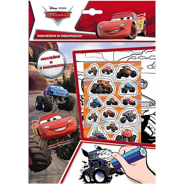 Тачки. Наклейки и раскраски Большие Колеса, DisneyРаскраски по номерам<br>Тачки. Наклейки и раскраски Большие Колеса, Disney (Дисней) – это лучший подарок любому мальчику поклоннику мультфильма Тачки (Cars).<br>Набор листов для раскрашивания с веселыми наклейками! Вашему ребенку понравится раскрашивать картинки, а наклейками можно украсить свои рисунки. Наклейки выполнены из высококачественного полимерного материала и отличаются высоким качеством.<br><br>Дополнительная информация:<br><br>- В наборе: наклейки, 4 раскраски<br>- Издательство: Росмэн<br>- Серия: Наклейки и раскраски<br>- Переплет: мягкий переплет<br>- Размер: 260 х 180 x 2 мм.<br>- Вес: 40 г<br>- Страниц: 10<br><br>Раскраску Тачки. Наклейки и раскраски Большие Колеса, Disney (Дисней) можно купить в нашем интернет-магазине.<br><br>Ширина мм: 260<br>Глубина мм: 180<br>Высота мм: 2<br>Вес г: 40<br>Возраст от месяцев: 36<br>Возраст до месяцев: 96<br>Пол: Мужской<br>Возраст: Детский<br>SKU: 3998154
