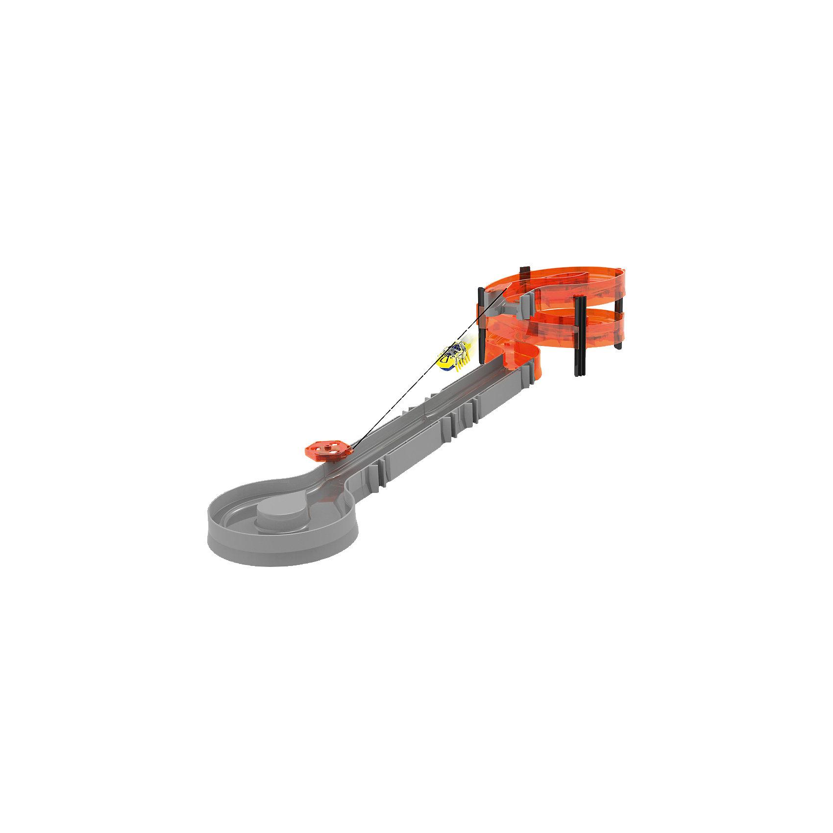 канатная дорога Зиплайн Нано, HexbugКанатная дорога Hexbug Nano Zip Line Starter Set<br><br>Характеристики игрового набора Hexbug:<br><br>• скоростной спуск по канатной дороге;<br>• набор имеет два уровня;<br>• канатная дорога регулируется по длине;<br>• в комплекте Hexbug 1 наноробот;<br>• канатная дорога выдерживает нагрузки нескольких нанороботов.<br><br>Нано-жуки решили опробовать себя в качестве альпинистов и горных туристов, выстроились в очередь перед стартовой площадкой. Преодолевать препятствия стало проще: нанороботы спускаются по канатной дороге к пункту назначения. <br><br>Комплектация игрового набора Zip Line Starter Set:<br><br>• прямые и  спиральные элементы, <br>• разворотная площадка, <br>• канатная дорога с креплением, <br>• 1 наноробот;<br>• 4 рюкзака для Hexbug Nano;<br>• инструкция. <br><br>Канатная дорога Зиплайн Нано, Hexbug можно купить в нашем интернет-магазине.<br><br>Ширина мм: 332<br>Глубина мм: 210<br>Высота мм: 63<br>Вес г: 357<br>Возраст от месяцев: 96<br>Возраст до месяцев: 156<br>Пол: Мужской<br>Возраст: Детский<br>SKU: 3998590