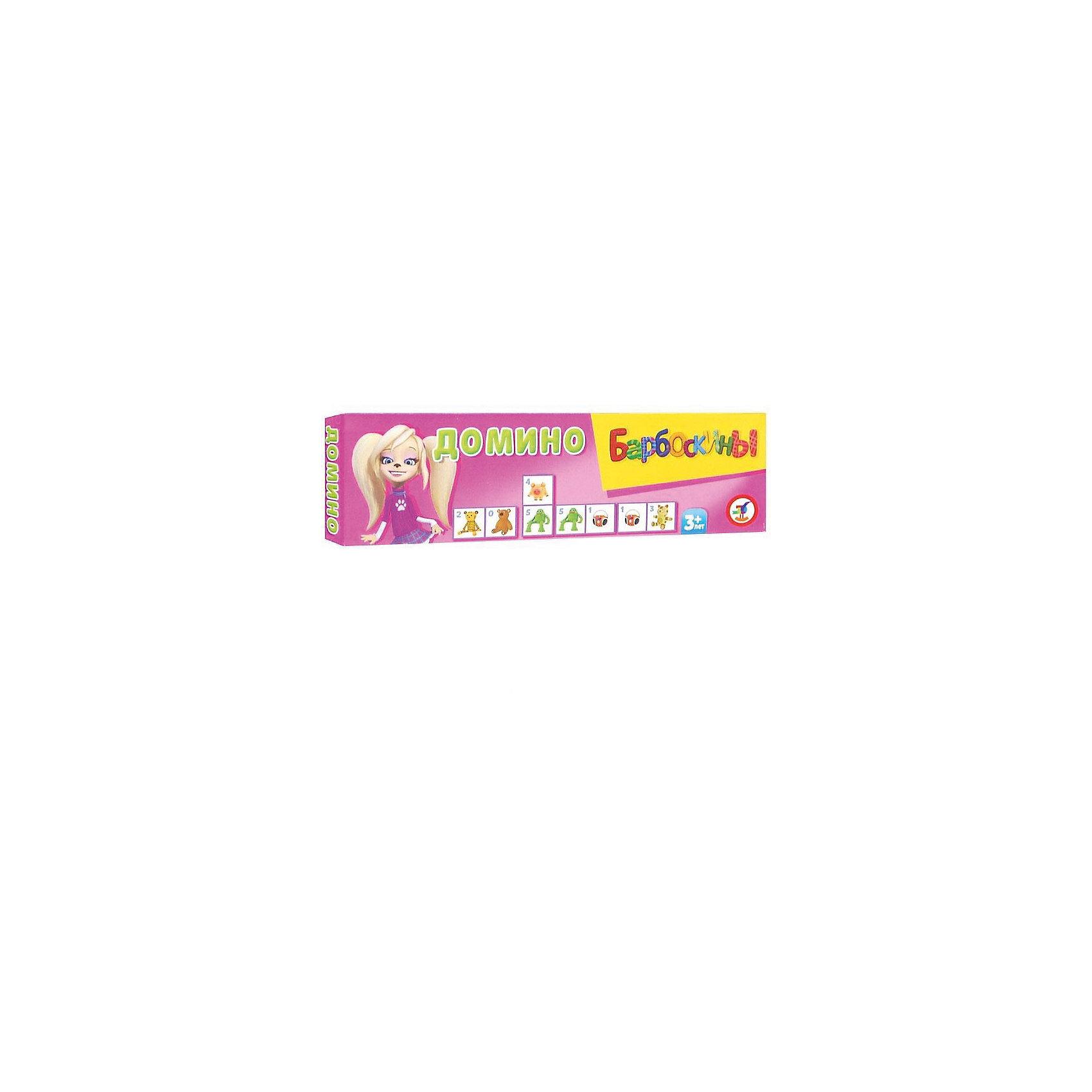 Домино малое пластиковое, БарбоскиныДомино малое пластиковое, Барбоскины - классическая, всем известная игра с любимыми героями, в которую можно играть всей семьей. Барбоскины - это большое семейство собак из популярного мультсериала Барбоскины, где у каждого персонажа свой характер и особенности. На карточках домино для малышей вместо традиционных точек изображены красочные рисунки с любимые игрушками персонажей мультфильма. Игра развивает логику, внимание, память, умение сравнивать и сопоставлять предметы. <br><br>Дополнительная информация:<br><br>- В комплекте: 28 карточек.<br>- Серия: Барбоскины.<br>- Материал: пластик.<br>- Размер упаковки: 5,5 x 18,3 x 1,8 см.<br>- Вес: 82 гр.<br><br>Домино малое пластиковое, Барбоскины, можно купить в нашем интернет-магазине.<br><br>Ширина мм: 55<br>Глубина мм: 18<br>Высота мм: 183<br>Вес г: 55<br>Возраст от месяцев: 36<br>Возраст до месяцев: 144<br>Пол: Унисекс<br>Возраст: Детский<br>SKU: 3998671