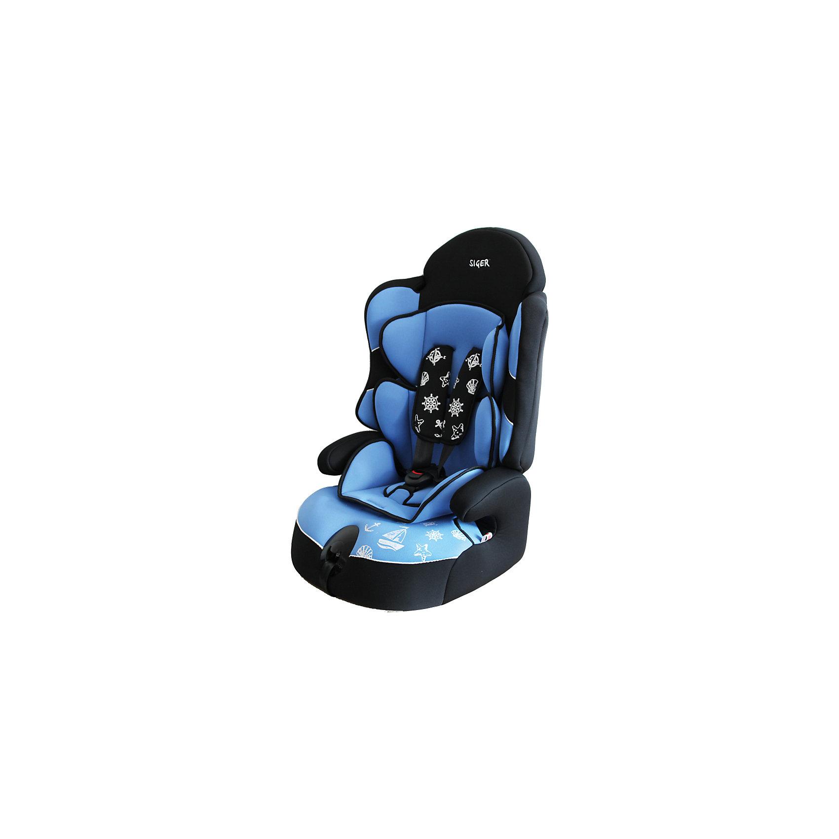 Автокресло Siger Драйв, 9-36 кг, голубойГруппа 1-2-3 (От 9 до 36 кг)<br>Автокресло Драйв - прекрасный вариант для поездок и путешествий на автомобиле. Ортопедическая спинка, уникальная форма подголовника и регулировка плечевых лямок по высоте обеспечивают комфорт и безопасность во время езды. Двухпозиционная регулировка ремней по глубине, позволяет адаптировать их под зимнюю и летнюю одежду. Округлая форма сиденья предохраняет ножки малышей от затекания и натирания в процессе езды. Усовершенствованная форма спинки обеспечивает безошибочное прохождения ремня безопасности. Уникальная система крепления позволит быстро и надежно установить кресло в автомобиль, и «мягко» удержит ребенка в поворотах и при ДТП. Когда ваш ребенок подрастет, вы легко сможете трансформировать автокресло в удобный бустер. Модель изготовлена из высококачественных прочных материалов, имеет износостойкий внешний  чехол, который легко снимается для стирки. <br><br>Дополнительная информация:<br><br>- Материал: пластик, текстиль.<br>- Вес ребенка: 9-36 кг. ( 1-12 лет)<br>- Группа 1-2-3.<br>- Ширина посадочного места: 48 см.<br>- Глубина посадочного места: 42 см.<br>- Высота кресла: 58<br>- Вес кресла: 4,8 кг.<br>- Регулировка ремней и плечевых лямок.<br>- 5- титочечные ремни безопасности.<br>- Ортопедическая спинка.<br>- Трансформируется в бустер.<br>- Цвет: голубой. <br>- Стирка: ручная, машинная ( при 30 ? ).<br>- Способ установки: лицом вперед.<br><br>Автокресло Драйв, 9-36 кг., Siger (Сигер), голубое, можно купить в нашем магазине.<br><br>Ширина мм: 585<br>Глубина мм: 450<br>Высота мм: 625<br>Вес г: 4800<br>Возраст от месяцев: 12<br>Возраст до месяцев: 144<br>Пол: Унисекс<br>Возраст: Детский<br>SKU: 3999706
