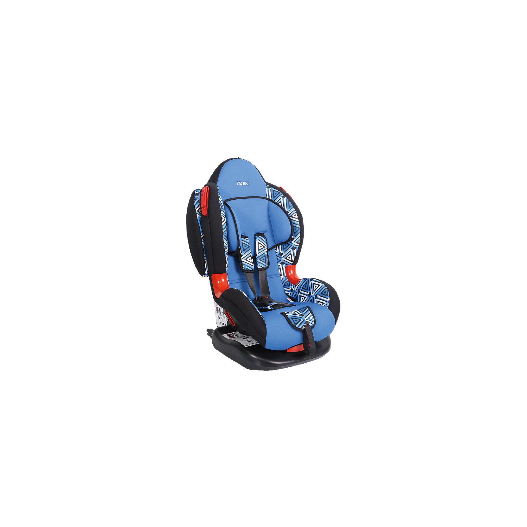 Автокресло Siger Кокон Art Isofix, 9-25 кг, геометрияГруппа 1-2 (От 9 до 25 кг)<br>Автокресло Кокон Art - прекрасный вариант для отдыха и путешествий для уже подросших малышей. Ортопедическая спинка, уникальная форма мягкого подголовника ,замок внутренних ремней с повышенной надежностью, 2 позиции прохождения штатного ремня обеспечивают удобство и надежную защиту вашего ребенка. Спинка регулируется в 6 положениях, что позволяет креслу адаптироваться под наклон сидений автомобиля. Округлая форма сиденья предохраняет ножки малышей от затекания и натирания в процессе езды. Модель имеет внутренние 5- титочечные ремни безопасности с мягкими внутренними накладками для еще большего комфорта. Износостойкие вставки для внутренних ремней для еще большей прочности и красоты. Кресло выполнено из высококачественных материалов, съемный  чехол прекрасно стирается в машине или же руками.<br><br>Дополнительная информация:<br><br>- Материал: пластик, текстиль.<br>- Вес ребенка: 9-25 кг. ( 1-7 лет).<br>- Группа 1-2.<br>- Ширина: 49 см.<br>- Глубина: 78 см.<br>- Глубина посадочного места: 50,5 см.<br>- Вес кресла: 8,4 кг.<br>- Регулировка ремней и плечевых лямок.<br>- 5- титочечные ремни безопасности.<br>- Ортопедическая спинка.<br>- Цвет: синий, принт - геометрия. <br>- Стирка: ручная, машинная ( при 30 ? ).<br>- Способ установки: лицом вперед.<br>- Ударопрочные боковые демпферы в комплектации «Изофикс (ISOFIX) плюс якорный ремень»<br><br>Автокресло Кокон Art Isofix, 9-25 кг., Siger (Сигер), геометрия можно купить в нашем магазине.<br><br>Ширина мм: 505<br>Глубина мм: 490<br>Высота мм: 780<br>Вес г: 8400<br>Возраст от месяцев: 12<br>Возраст до месяцев: 84<br>Пол: Унисекс<br>Возраст: Детский<br>SKU: 3999736