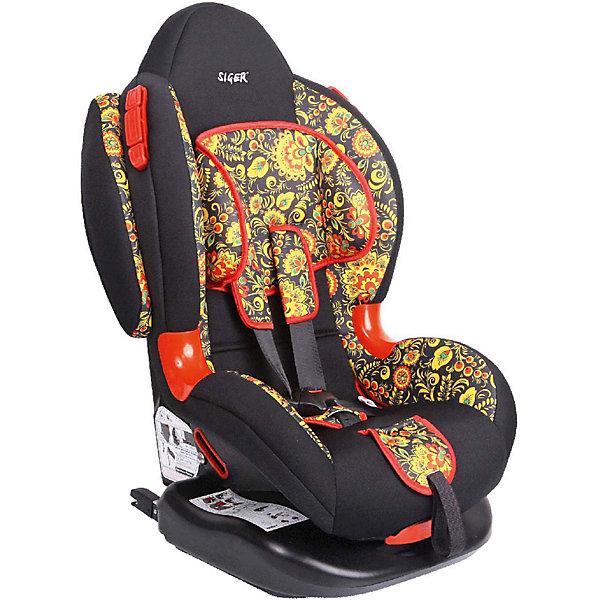 Автокресло Siger Кокон Art Isofix, 9-25 кг, хохломаГруппа 1-2  (от 9 до 25 кг)<br>Автокресло Siger ART ISOFIX предназначено для перевозки детей от года до 7 лет и с весом от 9 до 25 кг. 5-точечные ремни безопасности правильно и надежно фиксируют ребенка. Для большего комфорта предусмотрены плечевые накладки, мягкий подголовник и регулируемая ортопедическая спинка. Возможно крепление штатными ремнями автомобиля и при помощи системы Isofix. Кресло с оригинальным дизайном принесет море удовольствия и обеспечит максимальную безопасность во время поездки!<br><br>Особенности:<br>-5-точечные ремни безопасности с мягкими плечевыми накладками<br>-дополнительная защита от боковых ударов<br>-регулируемая ортопедическая спинка<br>-чехол из мягких гипоаллергенных тканей снимается для стирки<br><br>Дополнительная информация: <br>Крепление: система Isofix/штатные ремни автомобиля по ходу движения<br>Цвет: черный/хохлома<br>Размер: 46,5 x 78 x 42,8 см<br>Вес: 6,8 кг<br>Автокресло Siger ART ISOFIX можно купить в нашем интернет-магазине.<br><br>Ширина мм: 505<br>Глубина мм: 490<br>Высота мм: 780<br>Вес г: 8400<br>Возраст от месяцев: 12<br>Возраст до месяцев: 84<br>Пол: Унисекс<br>Возраст: Детский<br>SKU: 3999737