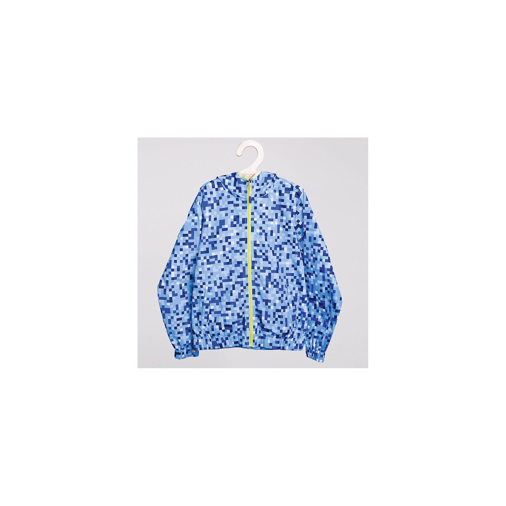 Куртка для мальчика ScoolКуртка с оригинальным принтом на прохладную погоду для мальчика <br>*Модель дополнена капюшоном <br>*Подкладка - хлопок <br>*Молния контрастного цвета <br>*Рукава и низ изделия на резинке <br>*Два функциональных кармана спереди Состав: верх:  100% полиэстер, подкладка:  65% полиэстер, 35% хлопок<br><br>Ширина мм: 356<br>Глубина мм: 10<br>Высота мм: 245<br>Вес г: 519<br>Цвет: голубой<br>Возраст от месяцев: 144<br>Возраст до месяцев: 156<br>Пол: Мужской<br>Возраст: Детский<br>Размер: 158,140,134,152,164,146<br>SKU: 4000494