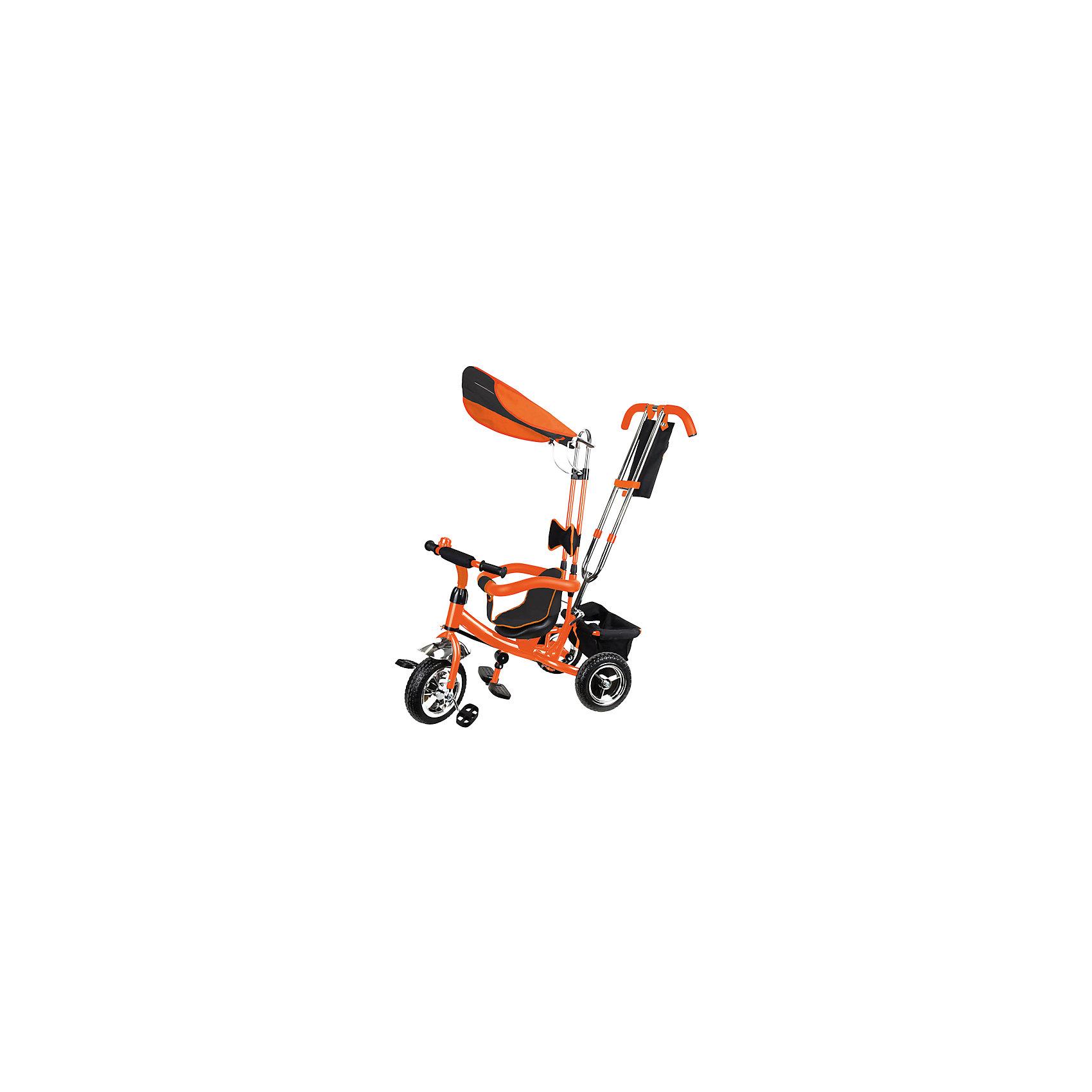 Lexus Trike Трехколесный велосипед, оранжевыйLexus Trike (Лексус Трайк) - непревзойденный трехколесный велосипед, проверенный российскими мамами. Сборка велосипеда очень проста и не требует много усилий. Великолепное качество изготовления обеспечивает полный комфорт для мамы и малыша. Велосипед отличается прекрасной управляемостью. Если родитель сам хочет управлять велосипедом, предусмотрена функция «свободное колесо»: ребенок сможет крутить педали вперед-назад, но его движения не будут влиять на ход велосипеда. Благодаря тросам в родительской ручке, велосипед четко выполняет команды родительского управления. Регулируйте расстояние от сидения до руля одним движением в зависимости от того, хочет малыш крутить педали или нет. Тент от солнца улучшенной формы и мягкие ограждения делают велосипед абсолютно безопасным. Колеса из полиуретана гарантируют устойчивость к стиранию. Удобная сумка для багажа действительно вместительная, ведь малышу на прогулке столько всего необходимо.<br><br>Дополнительная информация:<br><br>- Максимальная нагрузка: 50 кг;<br>- Три колеса из полиуретана;<br>- Большое колесо - 10 дюймов;<br>- Маленькие колеса - 8 дюймов;<br>- Сиденье с низкой спинкой;<br>- Подставки для ног;<br>- 3-х точечные ремни безопасности;<br>- Защитное ограждение разъемное;<br>- Регулировка сиденья по горизонтали;<br>- Регулировка ручки;<br>- Противоскользящие перфорированные педали;<br>- Сумка для багажа (большая) матерчатая;<br>- Цвет: оранжевый;<br>- Размер: 86 х 50 х 100 см;<br>- Вес: 11 кг<br><br>Lexus Trike  (Лексус Трайк) Трехколесный велосипед, оранжевый можно купить в нашем интернет-магазине.<br><br>Ширина мм: 700<br>Глубина мм: 270<br>Высота мм: 440<br>Вес г: 11000<br>Возраст от месяцев: 12<br>Возраст до месяцев: 36<br>Пол: Унисекс<br>Возраст: Детский<br>SKU: 4001433