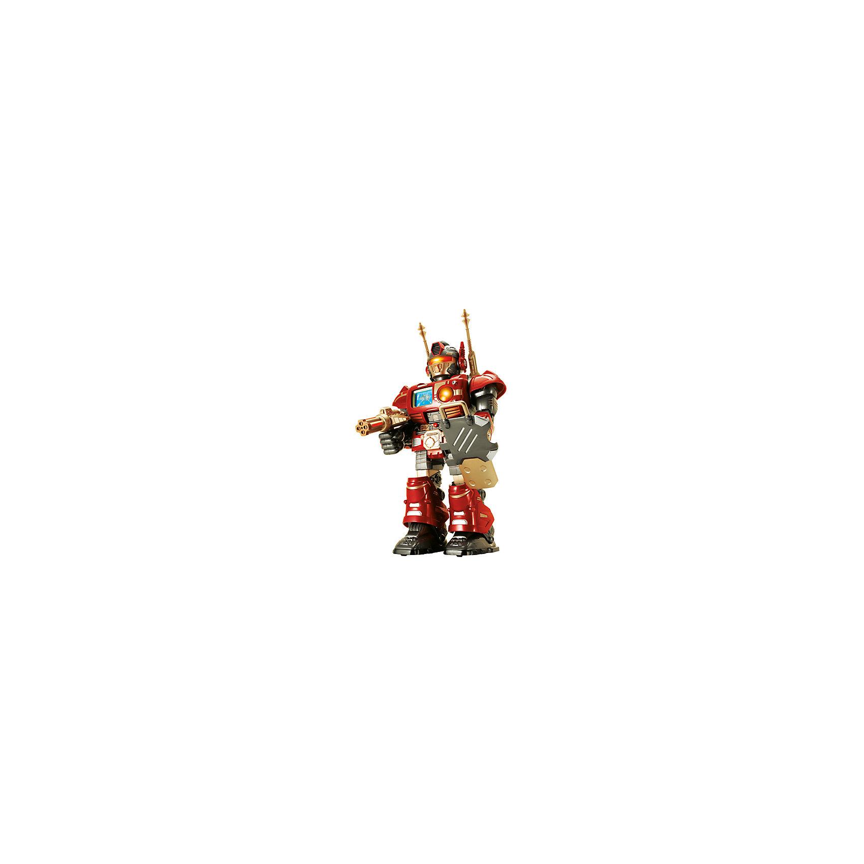 HAP-P-KID Робот-сержант красный, на и/к управлении, 38 см, HAP-P-KID hap p kid робот воин красный 3568t