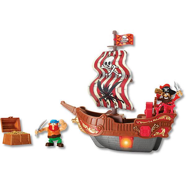 Приключение пиратов. Битва за остров красный, KeenwayПираты<br>Игровой набор Приключение пиратов. Битва за остров от  Keenway (Кинвэй) погрузит Вас в мир захватывающих приключений! Дети обожают книги и истории про отважных пиратов и несметные богатства в сундуках. С набором Приключение пиратов. Битва за остров можно разыграть их все!  Набор содержит все необходимое, чтобы создать захватывающие истории про морские сражения. В наборе 2 пирата, поэтому можно играть с другом и игра станет еще более захватывающей! Решайте чей пират самый решительный и смелый: кто выстрелит из пушки, а кто найдет сундуки с сокровищами! Набор выполнен из качественного пластика и имеет множество просто потрясающих аксессуаров, которые разнообразят игру. Создавайте полный приключений мир вместе с набором Приключение пиратов. Битва за остров от Keenway (Кинвэй)!<br><br>Дополнительная информация: <br><br>- В комплекте: корабль, 2 пирата, сокровища;<br>- Развивает фантазию и мышление;<br>- Можно играть одному или с друзьями;<br>- Световые эффекты;<br>- Прекрасное качество исполнения;<br>- Потрясающий подарок;<br>- Тип батареек: 2 x AA / LR6 1.5V (в комплекте);<br>- Цвет: красный;<br>- Размер упаковки: 12,7 х 36,8 х 40;<br>- Вес: 1 кг<br><br>Приключение пиратов. Битва за остров красный, Keenway (Кинвэй)  можно купить в нашем интернет-магазине<br>Ширина мм: 127; Глубина мм: 368; Высота мм: 400; Вес г: 1050; Возраст от месяцев: 36; Возраст до месяцев: 84; Пол: Мужской; Возраст: Детский; SKU: 4001665;