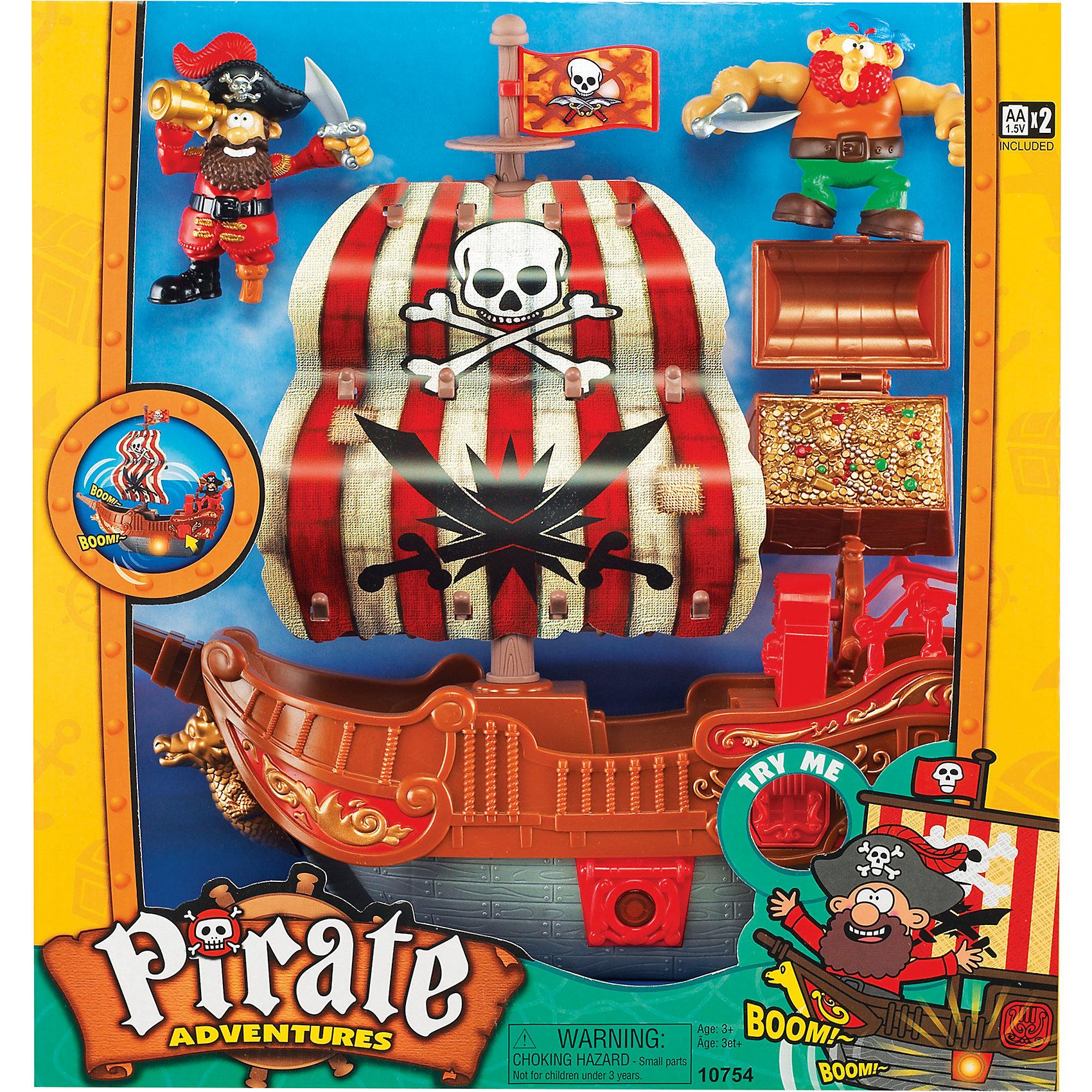 """""""Приключение пиратов. Битва за остров"""" красный, Keenway от myToys"""