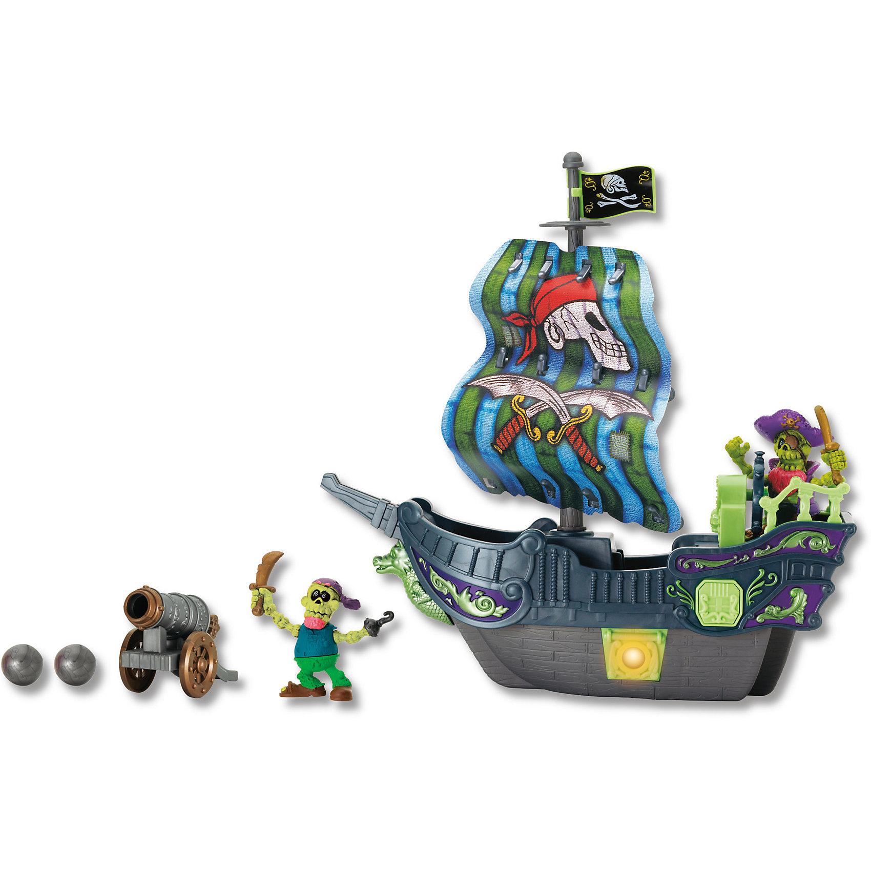 Приключение пиратов. Битва за остров зеленый, KeenwayИгровой набор Приключение пиратов. Битва за остров от  Keenway (Кинвэй) погрузит Вас в мир захватывающих приключений! Дети обожают книги и истории про отважных пиратов и несметные богатства в сундуках. С набором Приключение пиратов. Битва за остров можно разыграть их все!  Набор содержит все необходимое, чтобы создать захватывающие истории про морские сражения. В наборе 2 пирата, поэтому можно играть с другом и игра станет еще более захватывающей! Решайте чей пират самый решительный и смелый: кто выстрелит из пушки, а кто найдет сундуки с сокровищами! Набор выполнен из качественного пластика и имеет множество просто потрясающих аксессуаров, которые разнообразят игру. Создавайте полный приключений мир вместе с набором Приключение пиратов. Битва за остров от Keenway (Кинвэй)!<br><br>Дополнительная информация: <br><br>- В комплекте: корабль, 2 пирата, сокровища;<br>- Развивает фантазию и мышление;<br>- Можно играть одному или с друзьями;<br>- Световые эффекты;<br>- Прекрасное качество исполнения;<br>- Потрясающий подарок;<br>- Тип батареек: 2 x AA / LR6 1.5V (в комплекте);<br>- Цвет: зеленый;<br>- Размер упаковки: 12,7 х 36,8 х 40;<br>- Вес: 1 кг<br><br>Приключение пиратов. Битва за остров зеленый, Keenway (Кинвэй)  можно купить в нашем интернет-магазине<br><br>Ширина мм: 127<br>Глубина мм: 127<br>Высота мм: 400<br>Вес г: 1040<br>Возраст от месяцев: 36<br>Возраст до месяцев: 84<br>Пол: Мужской<br>Возраст: Детский<br>SKU: 4001666