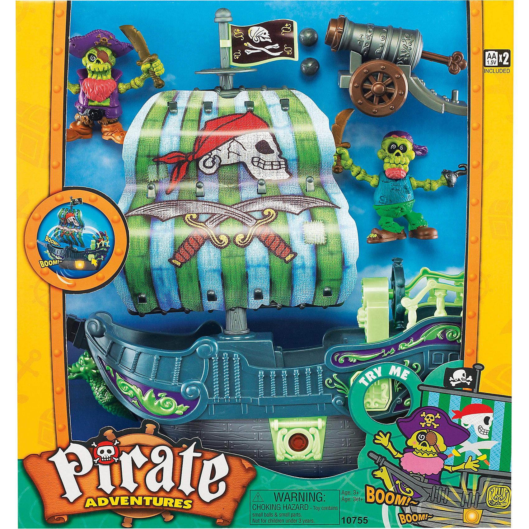 """""""Приключение пиратов. Битва за остров"""" зеленый, Keenway от myToys"""