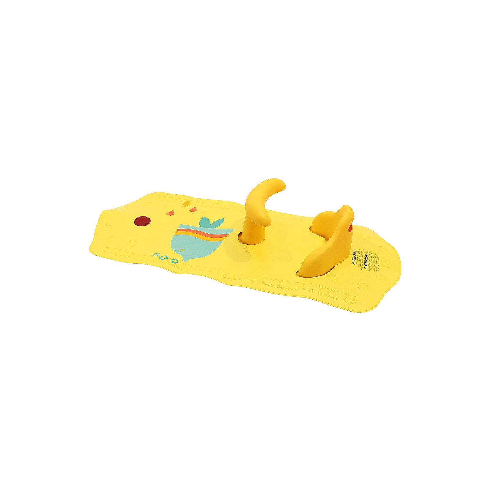 Roxy-Kids Коврик для ванной со съемным стульчиком ROXY-KIDS, Рыбка roxy kids круг музыкальный на шею для купания flipper цвет розовый