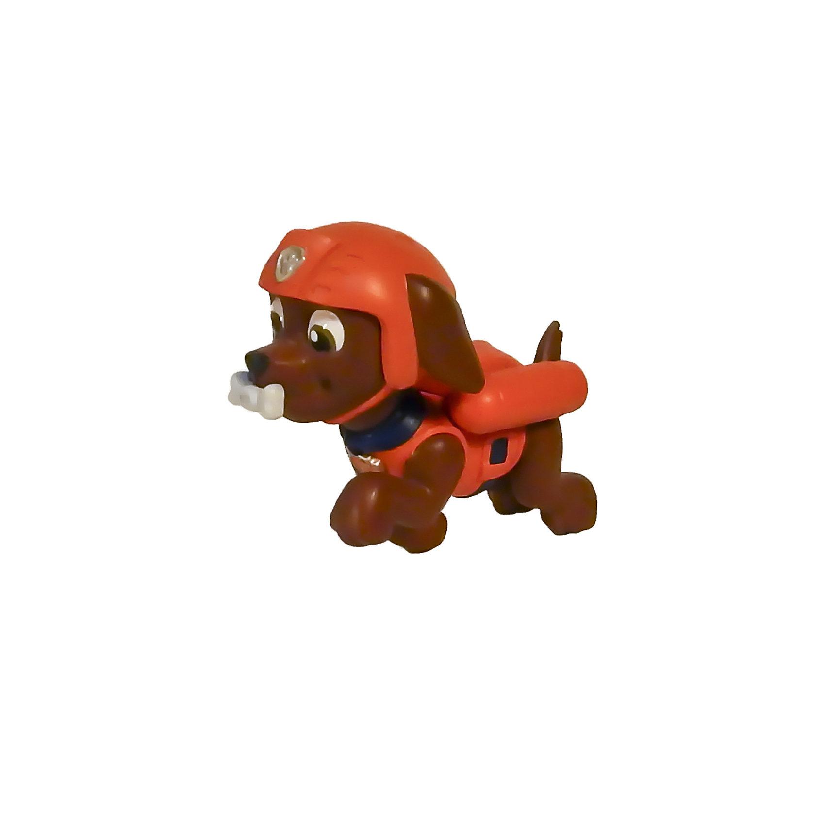 Маленькая фигурка щенка Зумы, Щенячий патруль, Spin MasterЗума  прекрасно проводит спасательные операции на воде! В этом ему нет равных. Коллекционная фигурка из серии Paw Patrol (Щенячий патруль) прекрасно детализирована, очень реалистична - в точности повторяет облик персонажа любимого мультфильма. Собери всю коллекцию щенков-спасателей! <br><br><br>Дополнительная информация:<br><br>- Материал: пластик.<br>- Размер фигурки: 7 см. <br>- У фигурки подвижная голова.<br><br>Маленькую фигурку щенка Зумы, Щенячий патруль, Spin Master (Спин Мастер) можно купить в нашем магазине.<br><br>Ширина мм: 60<br>Глубина мм: 40<br>Высота мм: 50<br>Вес г: 554<br>Возраст от месяцев: 36<br>Возраст до месяцев: 72<br>Пол: Унисекс<br>Возраст: Детский<br>SKU: 4004749