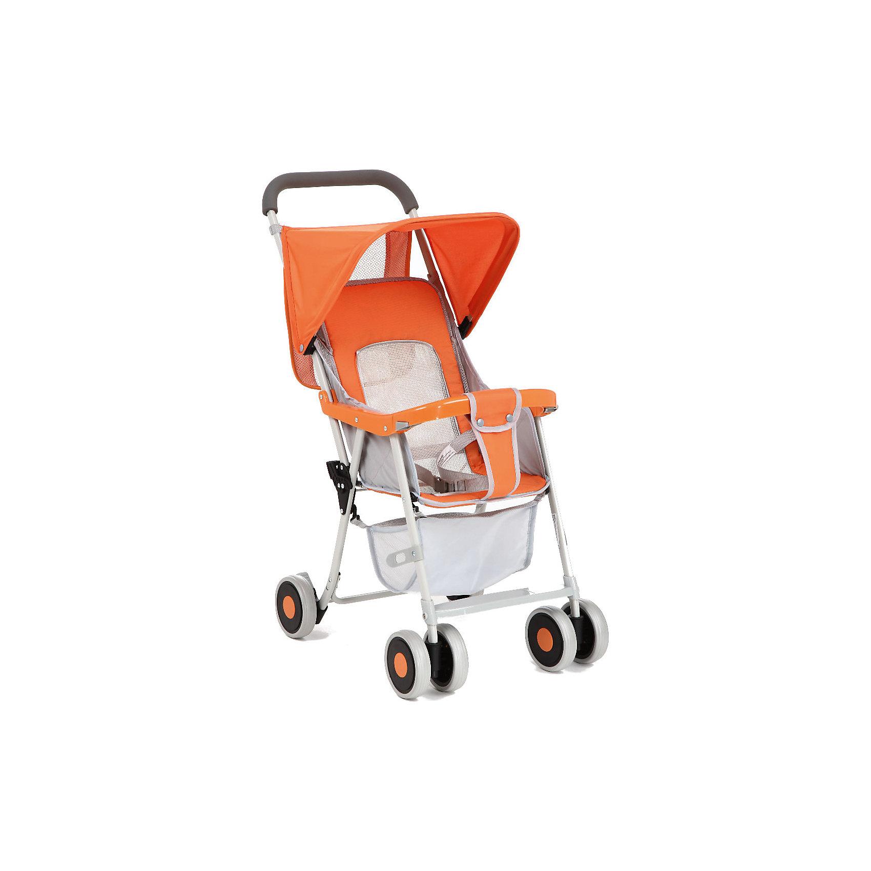 Прогулочная коляска S-2, Corol, оранжевыйПрогулочная коляска S-2, Corol, оранжевый – это удобная и комфортная коляска для вашего малыша.<br>Эта прогулочная коляска придется по вкусу, как родителям, так и маленькому путешественнику. Вашему ребенку в этой коляске будет удобно и комфортно. Для безопасности малыша предусмотрены трехточечные ремни безопасности и съемный защитный бампер. Спинка коляски регулируется в 2 положениях, что позволяет малышу с комфортом совершать прогулки на свежем воздухе. Несмотря на небольшой диаметр колес, коляска маневренна и обладает неплохой проходимостью. Передние колеса поворотные, задние колеса фиксированные.<br><br>Дополнительная информация:<br><br>- Комплектация: солнцезащитный козырек, съемный бампер, корзина для покупок<br>- Цвет: оранжевый<br>- Тип сложения: книжка<br>- Сезон: демисезонная<br>- Вес коляски: 3,8 кг.<br>- Количество положений спинки: 2<br>- Количество колес: шестиколесные<br>- Тип передних колес: два двойных<br>- Тип задних колес: два одинарных<br>- Материал колес: пластик<br>- Имеется корзина для покупок<br><br>Прогулочную коляску S-2, Corol, оранжевую можно купить в нашем интернет-магазине.<br><br>Ширина мм: 830<br>Глубина мм: 380<br>Высота мм: 150<br>Вес г: 3800<br>Возраст от месяцев: 6<br>Возраст до месяцев: 36<br>Пол: Унисекс<br>Возраст: Детский<br>SKU: 4005608