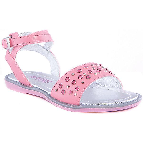 Босоножки для девочки MinimenБосоножки<br>Модные сандалии для девочки от известного турецкого бренда Minimen. Изделие предназначено для использования в сухую погоду при температуре воздуха выше +20 градусов и обладает следующими особенностями:<br>- розовый цвет, эффектный декор;<br>- узкий ремешок с традиционной пряжкой;<br>- подкладка и стелька из натуральной кожи серебряного цвета;<br>- легкая подошва.<br>Очаровательные сандалии для Вашей любимой модницы<br><br>Дополнительная информация:<br>- Температурный режим: выше +20 градусов<br>- Состав: <br>Материал верха: натуральная кожа 100%; <br>Материал подкладки: натуральная кожа 100%; <br>Материал подошвы: термопластик 100%<br><br>Сандалии для девочки Minimen (Минимен) можно купить в нашем магазине<br><br>Ширина мм: 219<br>Глубина мм: 154<br>Высота мм: 121<br>Вес г: 343<br>Цвет: розовый<br>Возраст от месяцев: 144<br>Возраст до месяцев: 156<br>Пол: Женский<br>Возраст: Детский<br>Размер: 35,31,32,33,34,36<br>SKU: 4005732