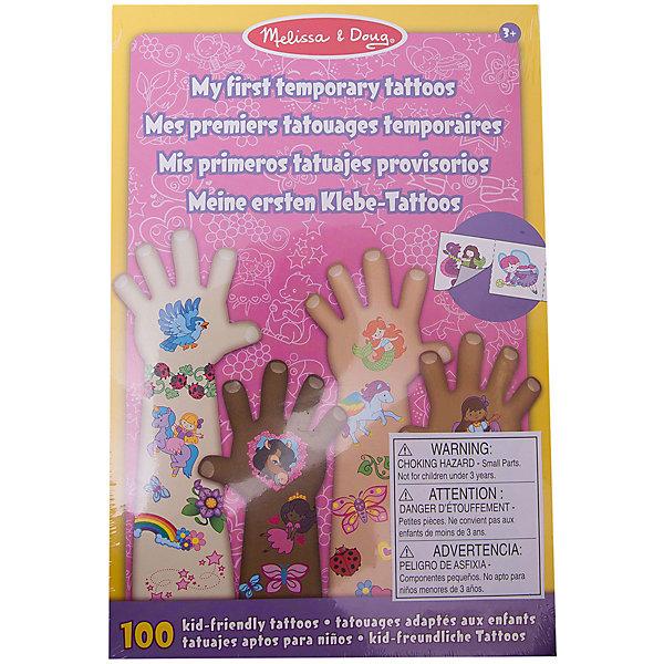 Набор временных тату (розовый), Melissa &amp; DougПереводные тату<br>В Набор временных тату (розовый), Melissa &amp; Doug (Мелисса и Даг) входит более 100 красочных наклеек для маленьких модниц. Здесь есть сердечки, принцессы, бабочки, феи, пони, цветы и многое другое. Детские временные татуировки из данного набора абсолютно безопасны для детской кожи, легко наносятся на тело и удаляются при помощи воды.<br><br>Дополнительная информация:<br>-Размер упаковки: 23x15 см<br>-Материал: дерево, прессованный картон, ПВХ<br><br>Яркие наклейки из набора временных тату создадут новый образ Вашей малышки, и она несомненно оценит такой подарок!<br><br>Набор временных тату (розовый), Melissa &amp; Doug (Мелисса и Даг) можно купить в нашем магазине.<br>Ширина мм: 150; Глубина мм: 150; Высота мм: 230; Вес г: 340; Возраст от месяцев: 36; Возраст до месяцев: 180; Пол: Унисекс; Возраст: Детский; SKU: 4008262;