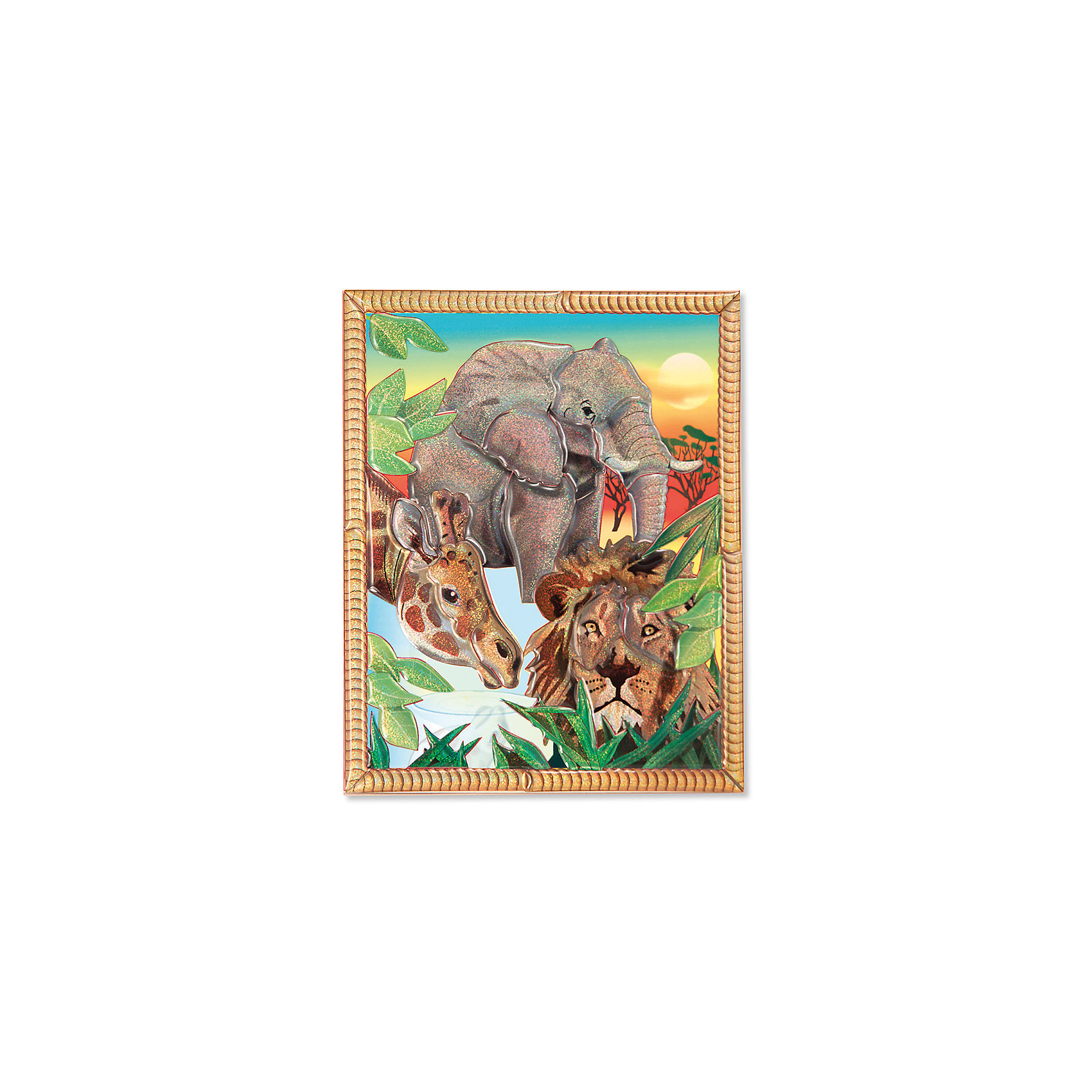Мозаика Сафари, Melissa &amp; DougКрасочная Мозаика Сафари, Melissa &amp; Doug (Мелисса и Даг) предназначена для самых маленьких. Собрать мозаику очень просто: нужно поместить каждый фрагмент картинки на деревянный фон согласно номерам на основе и обратной стороне элементов. В результате получится изображение красочного африканского сафари, которым Ваш ребенок сможет гордиться! Готовую картинку можно подарить или повесить на стену. В процессе игры развиваются логическое и абстрактное мышление, мелкая моторика, зрительная память, творческие способности.<br><br>Дополнительная информация:<br>-Материал: дерево, картон<br>-Размер упаковки: 12х15 см<br><br>Набор для творчества мозаика «Сафари» является превосходным подарком для детей, чтобы они смогли весело и с пользой провести время дома, проявив фантазию и творческий подход.<br><br>Мозаика Сафари, Melissa &amp; Doug (Мелисса и Даг) можно купить в нашем магазине.<br><br>Ширина мм: 200<br>Глубина мм: 200<br>Высота мм: 200<br>Вес г: 310<br>Возраст от месяцев: 60<br>Возраст до месяцев: 180<br>Пол: Унисекс<br>Возраст: Детский<br>SKU: 4008264