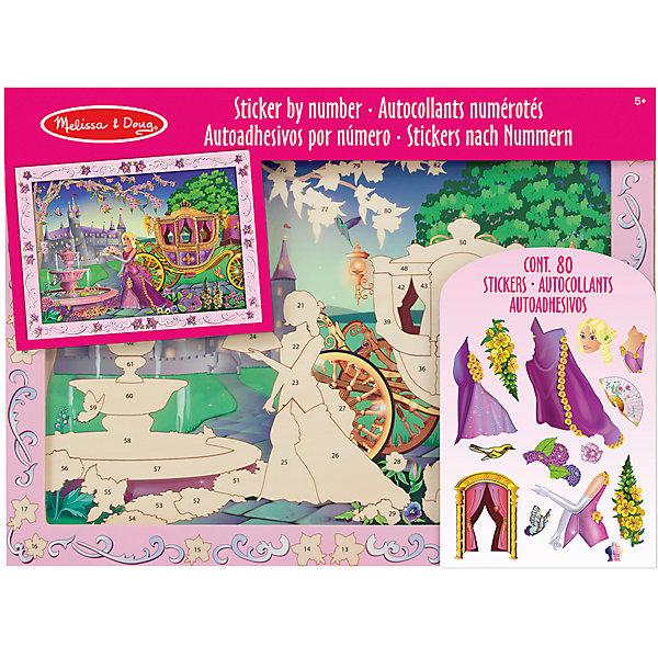 Мозаика Сказочная Принцесса, Melissa &amp; DougМозаика детская<br>Мозаика Сказочная Принцесса, Melissa &amp; Doug (Мелисса и Даг) – идеальная развивающая игра для девочки, в результате которой с помощью цветных блестящих пронумерованных наклеек, она с легкостью сможет создать мозаичную картину замка с принцессой. Необходимо наклеить на деревянную основу стикеры с соответствующими цифрами. Развивая мелкую моторику пальцев, фантазию, зрительную память, девочка получит массу удовольствия от игры! К тому же картина, сделанная своими руками, станет отличным дополнением интерьера детской комнаты или замечательным подарком близким.<br><br>Комплектация: деревянная подложка, 80 стикеров  <br><br>Дополнительная информация:<br>-Размер упаковки: 40,6х30,4х1,9 см<br>-Материал: дерево, картон <br>-Вес: 0,6 кг<br><br>Набор для творчества мозаика «Сказочная Принцесса» является превосходным подарком для детей, чтобы они смогли весело и с пользой провести время дома, проявив фантазию и творческий подход.<br><br>Мозаика Сказочная Принцесса, Melissa &amp; Doug (Мелисса и Даг) можно купить в нашем магазине.<br><br>Ширина мм: 400<br>Глубина мм: 400<br>Высота мм: 300<br>Вес г: 620<br>Возраст от месяцев: 60<br>Возраст до месяцев: 180<br>Пол: Унисекс<br>Возраст: Детский<br>SKU: 4008269